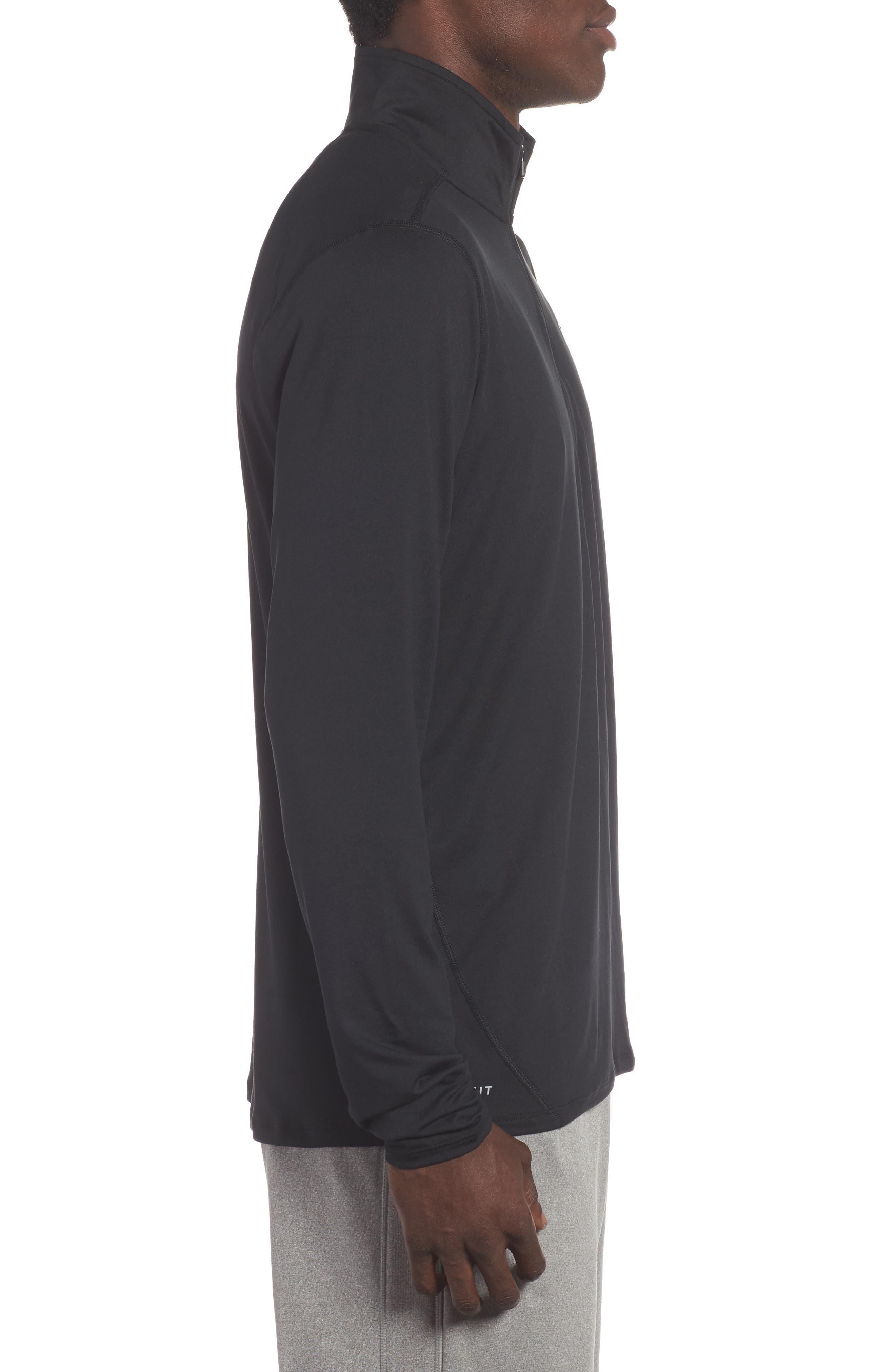 Alternate Image 3  - Nike NFL Team Element Quarter Zip Pullover