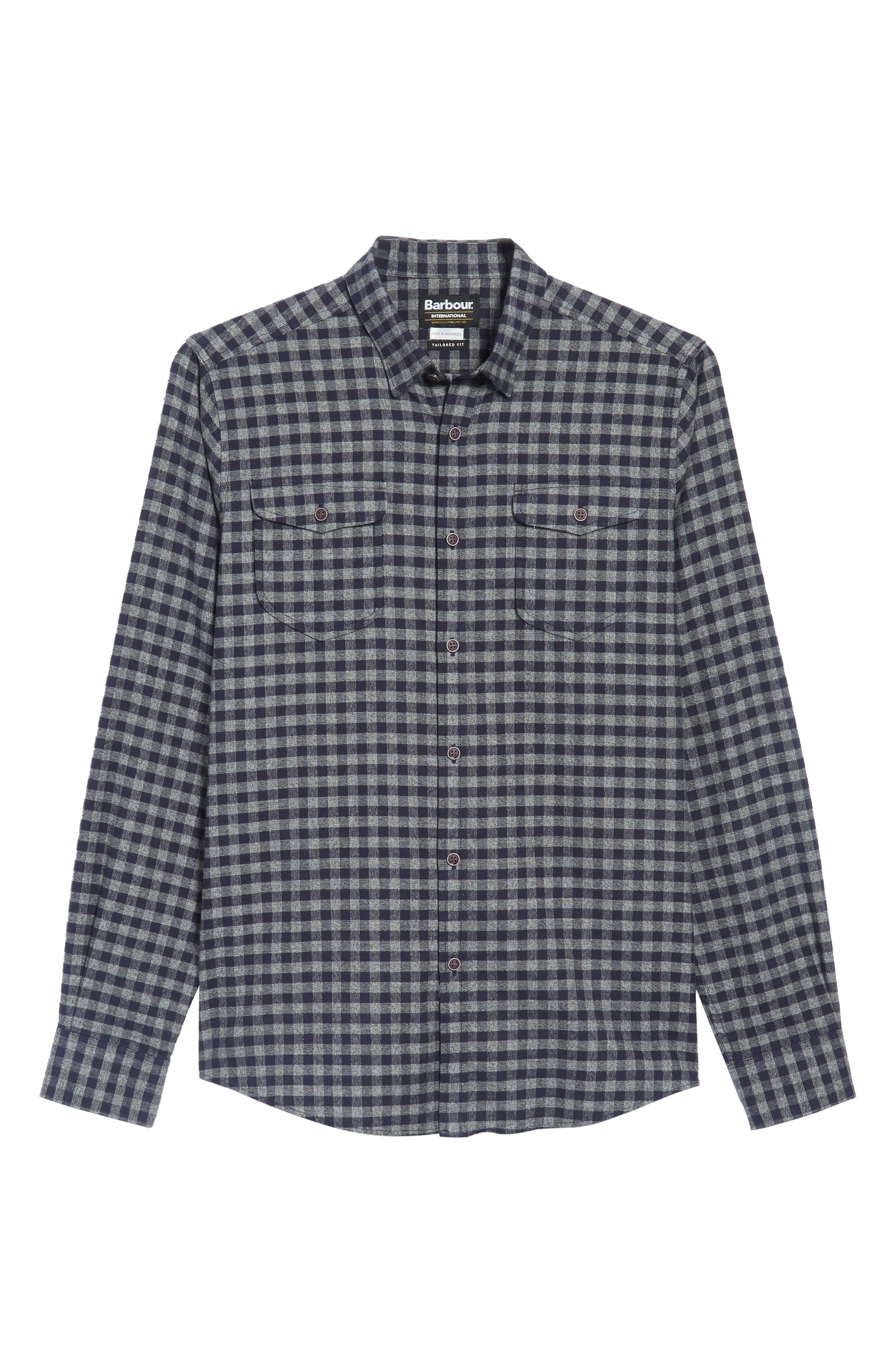 Alternate Image 6  - Barbour Ratchet Regular Fit Check Sport Shirt