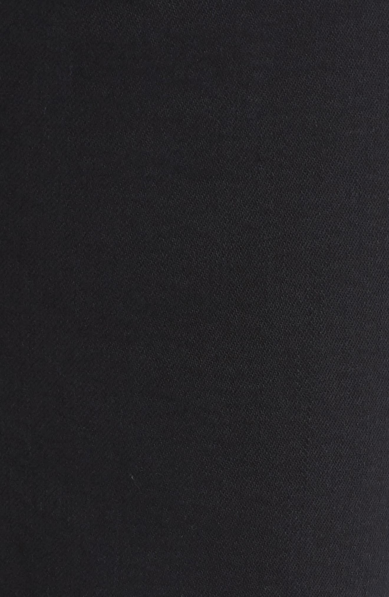 Alternate Image 5  - AGOLDE Sophie Crop High Rise Skinny Jeans (Princeton)