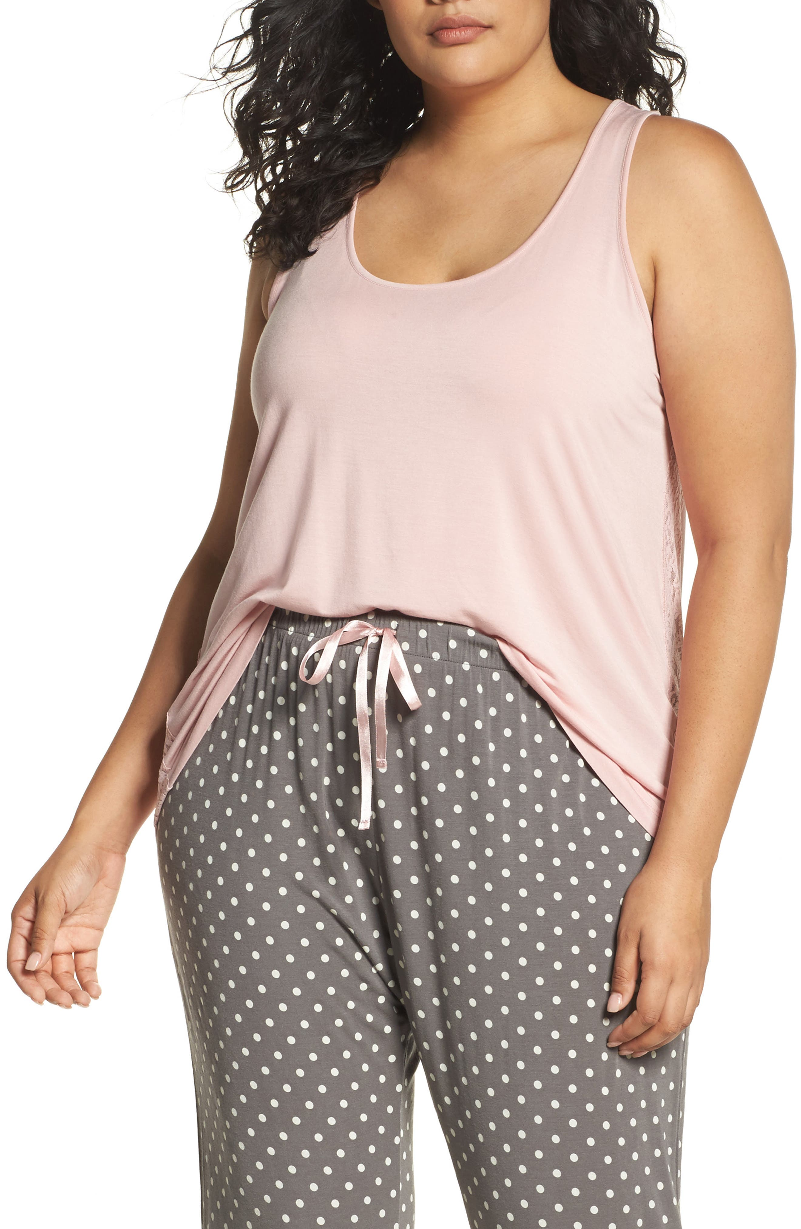 PJ Salvage Stretch Modal Tank (Plus Size)