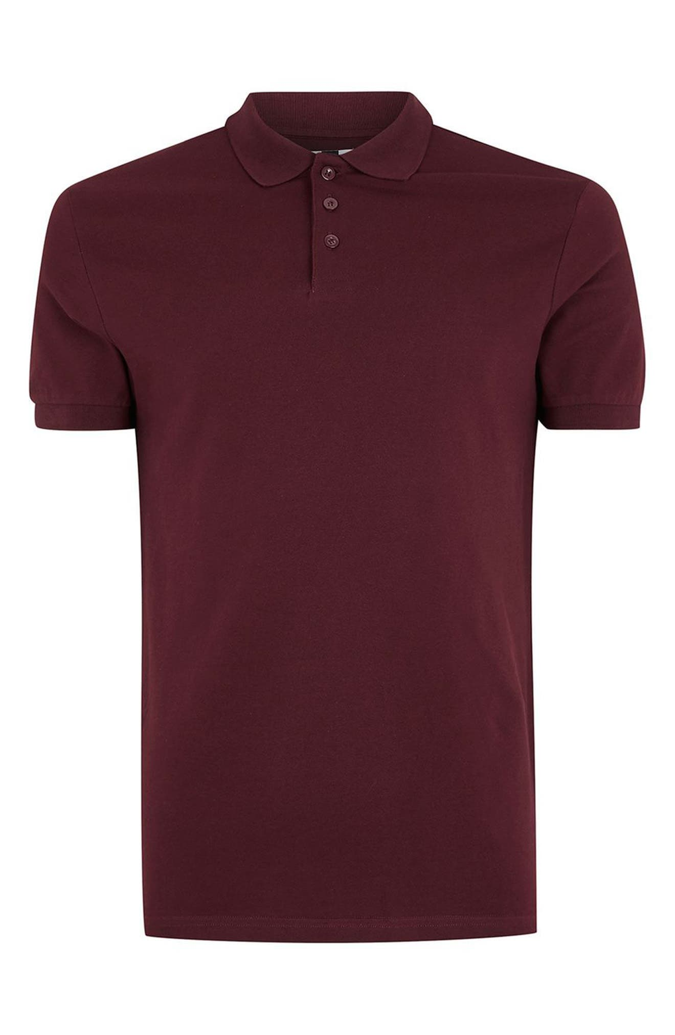 Alternate Image 4  - Topman Muscle Fit Polo