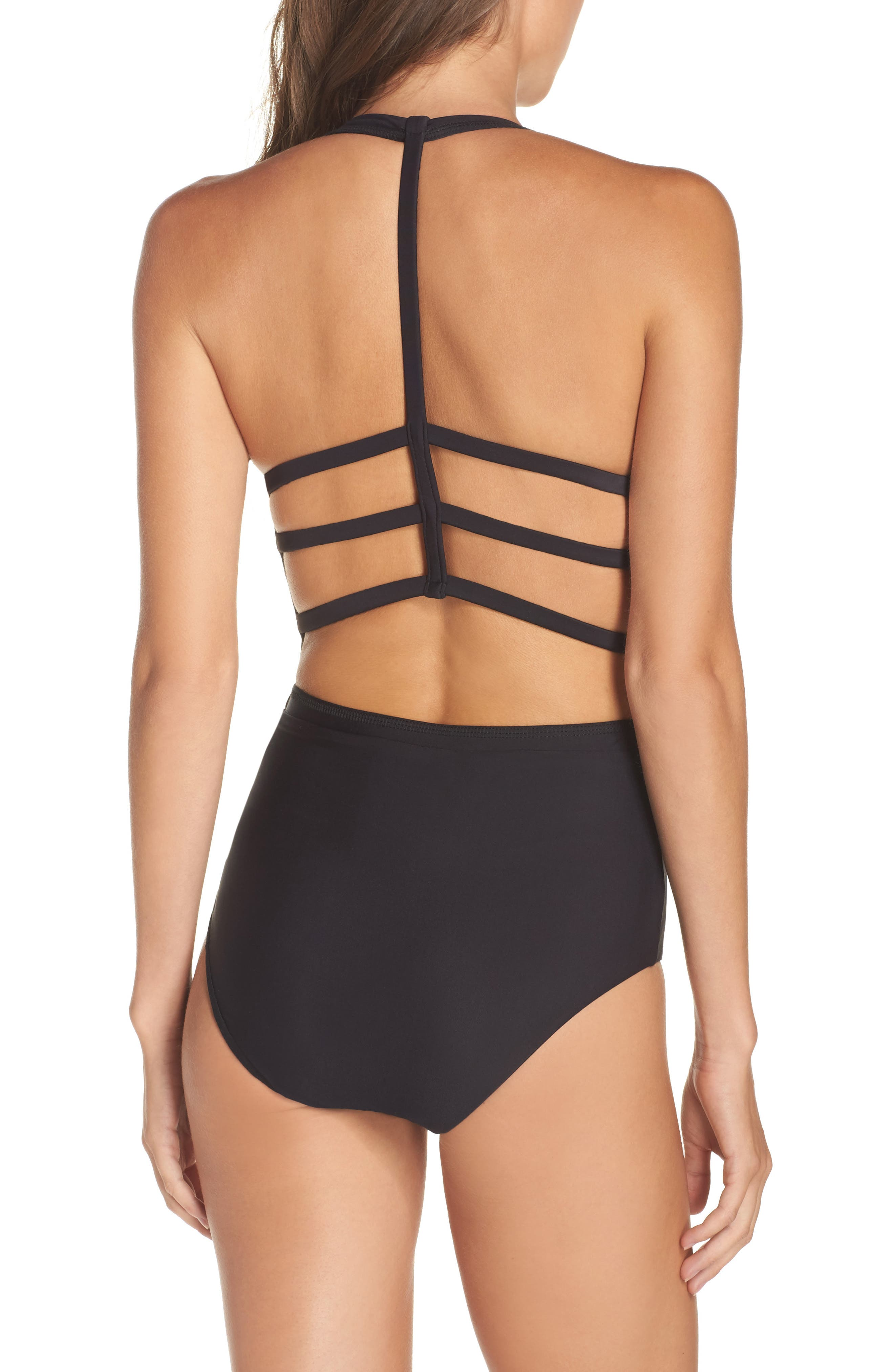 Alternate Image 2  - BCA Cutout One-Piece Swimsuit