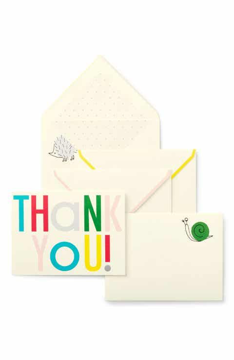 Baby Gift Thank You Card Packs : Kate spade new york baby shower gifts nordstrom