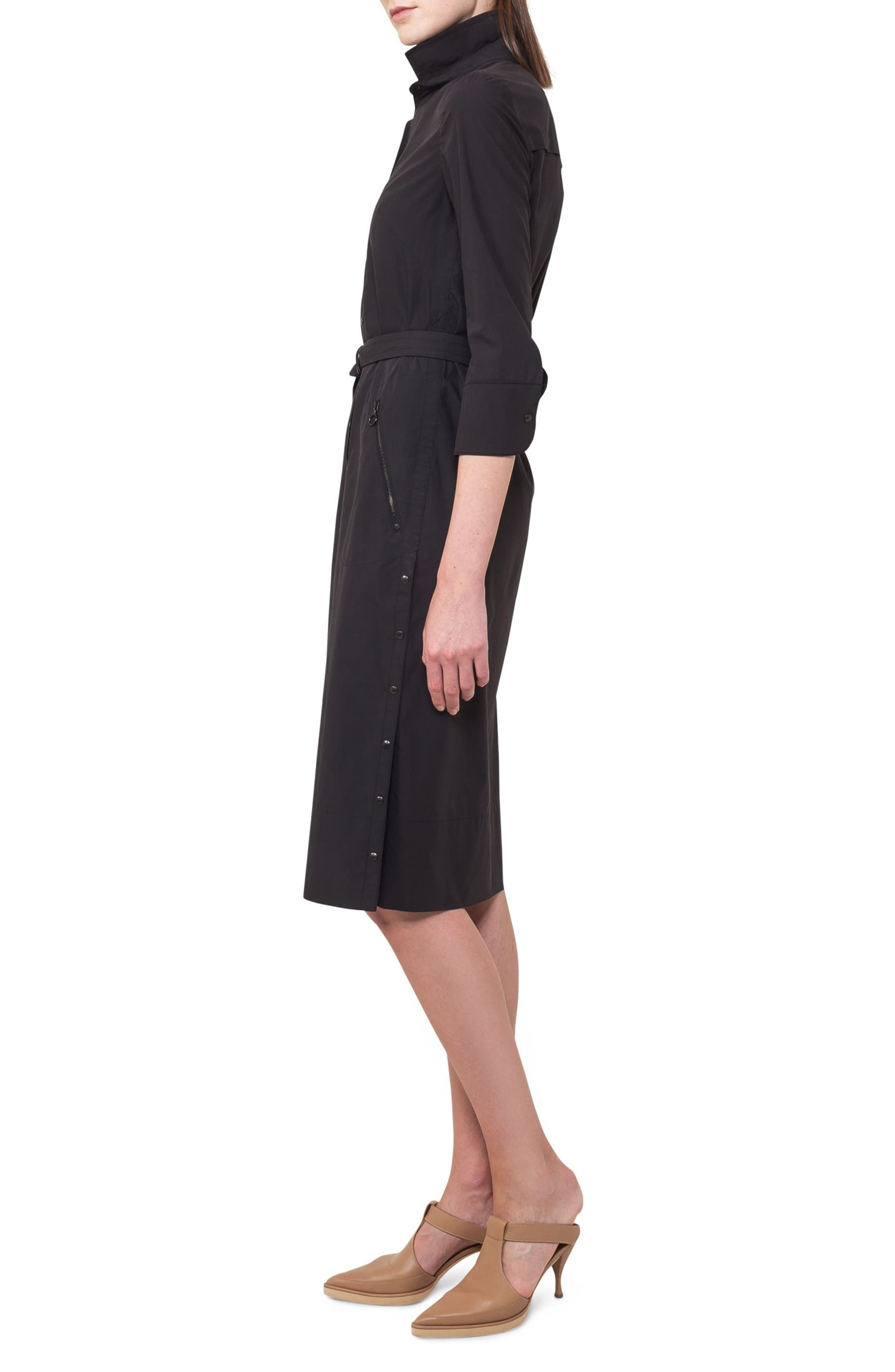 Alternate Image 3  - Akris punto Cotton Shirtdress