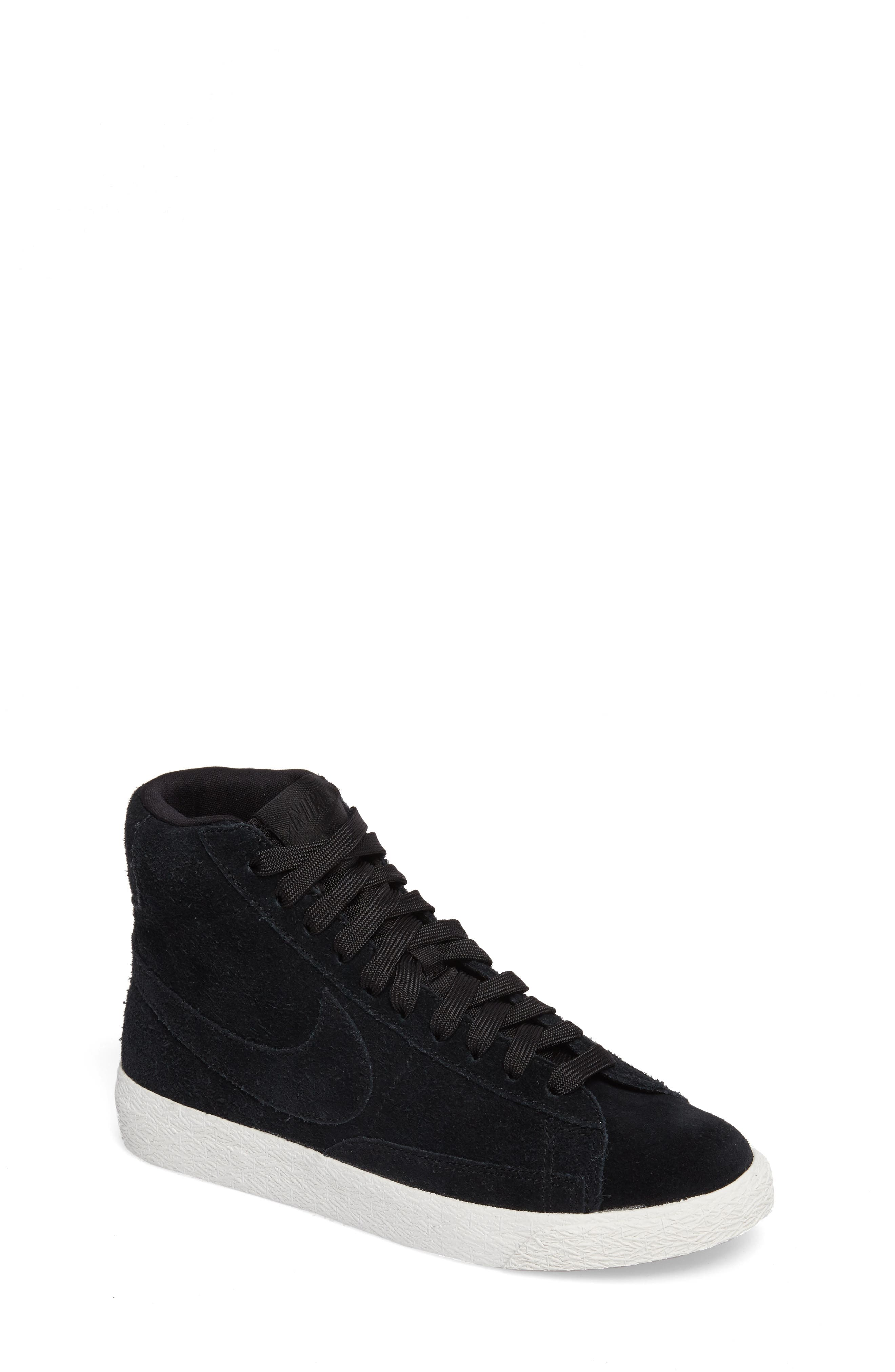 Nike Blazer Mid High Top Sneaker (Big Kid)