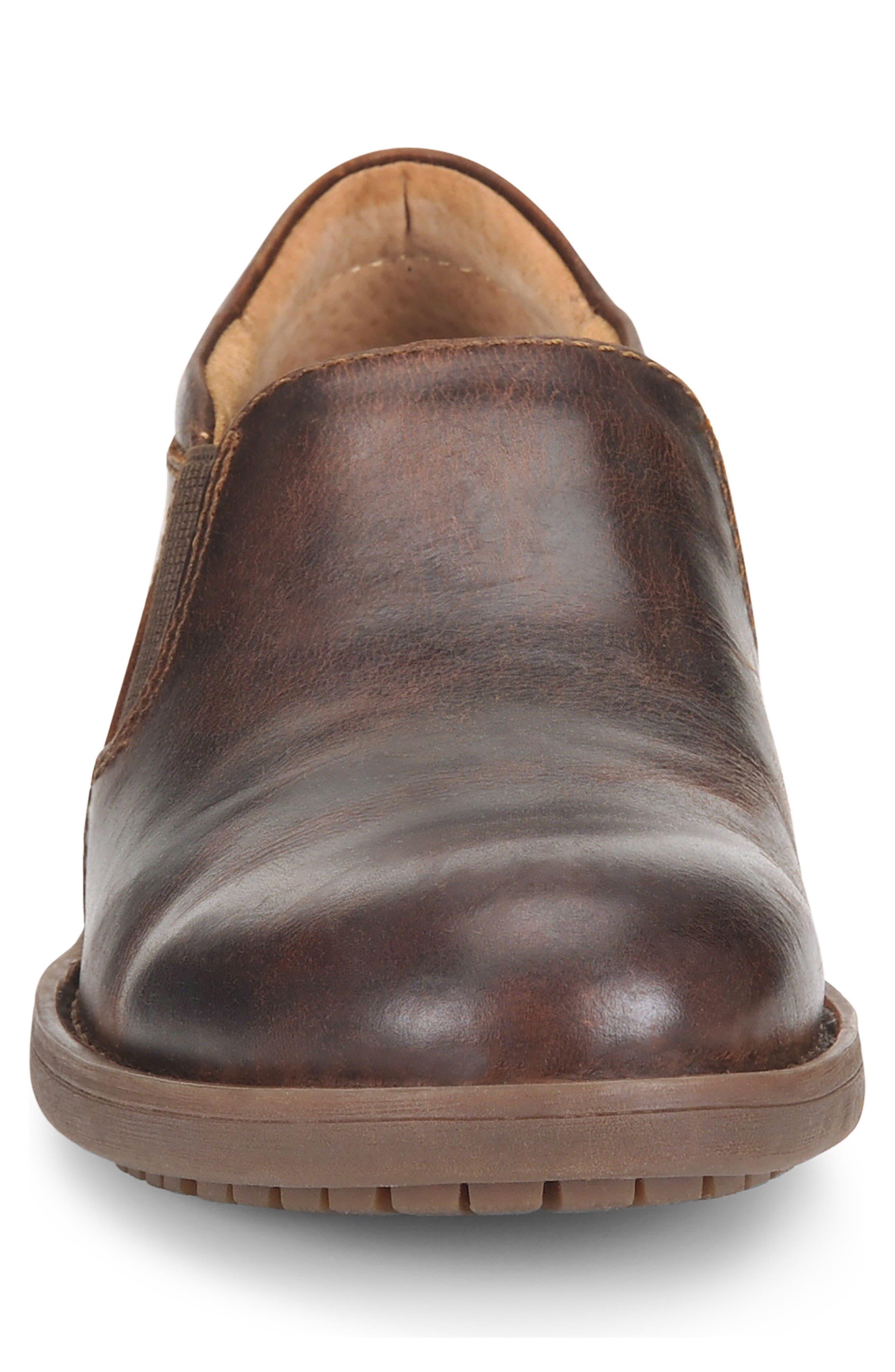 Alternate Image 4  - Børn Senn Plain Toe Slip-On (Men)