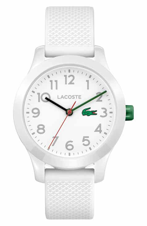 d4a0bbf40 Lacoste Kids 12.12 Silicone Strap Watch, 32mm