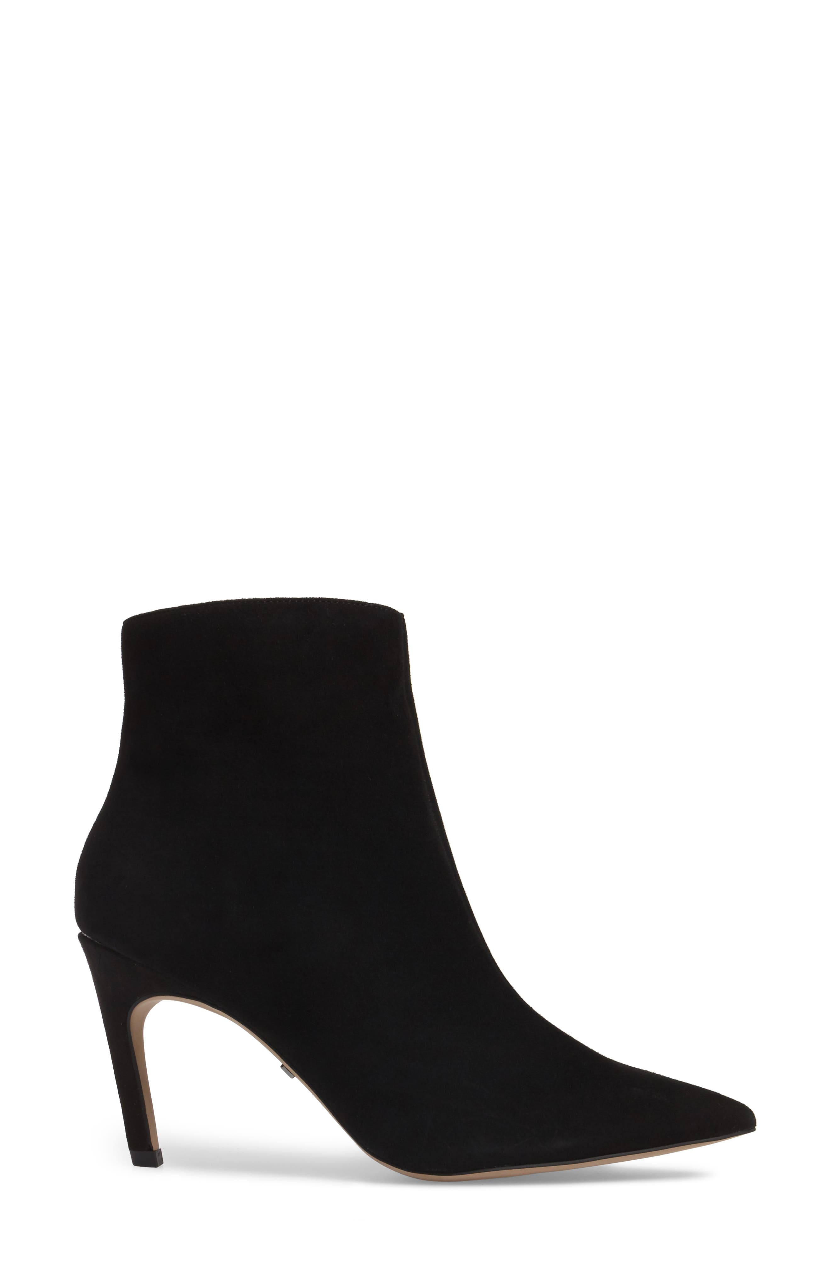 Hot Toddy Pointy Toe Boot,                             Alternate thumbnail 3, color,                             Black