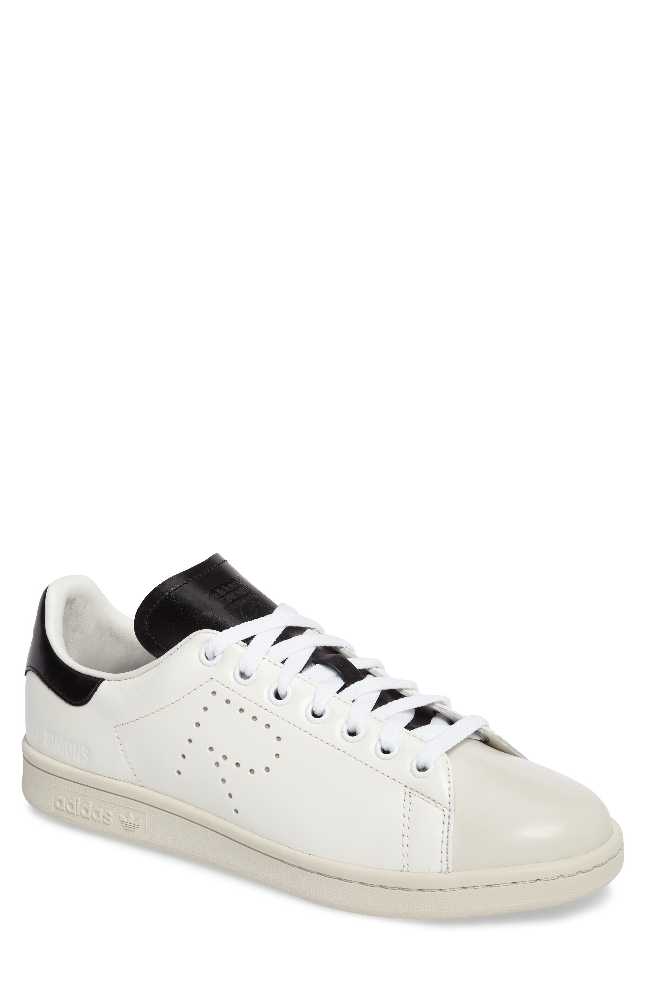 adidas by Raf Simons 'Stan Smith' Sneaker,                         Main,                         color, White