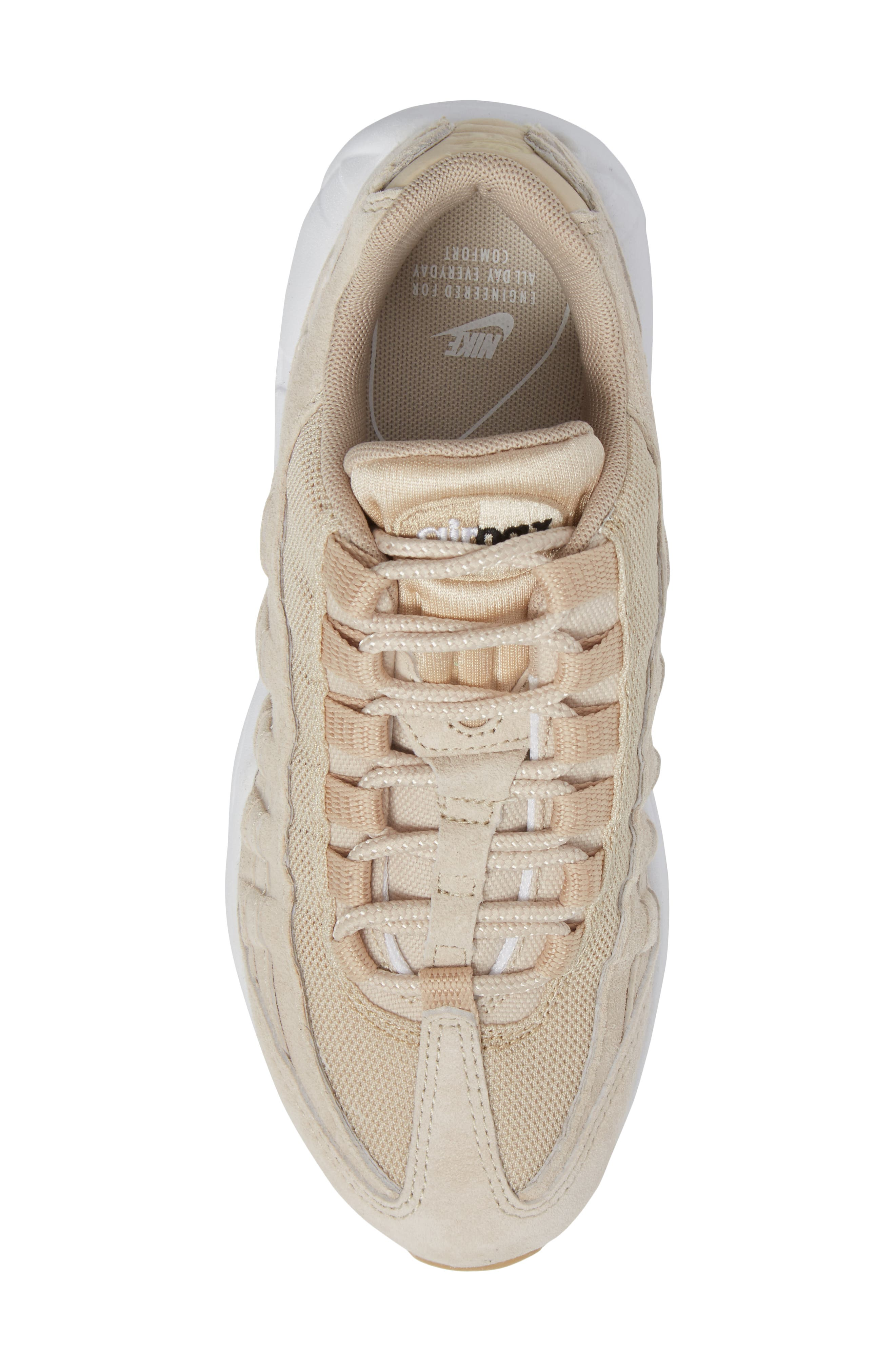 Air Max 95 SD Sneaker,                             Alternate thumbnail 5, color,                             Oatmeal/ White