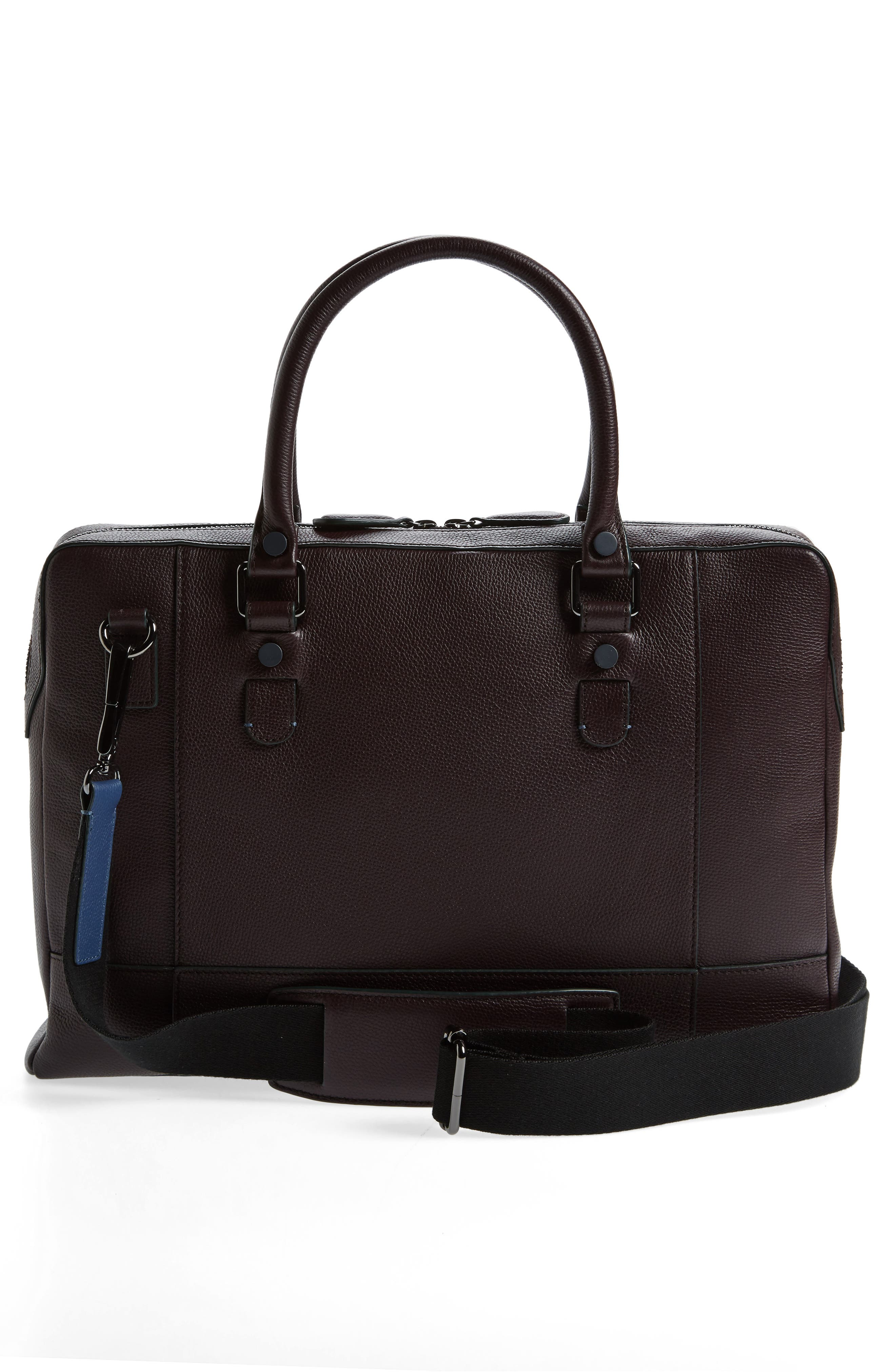 Alternate Image 3  - Ted Baker London Jager Leather Briefcase