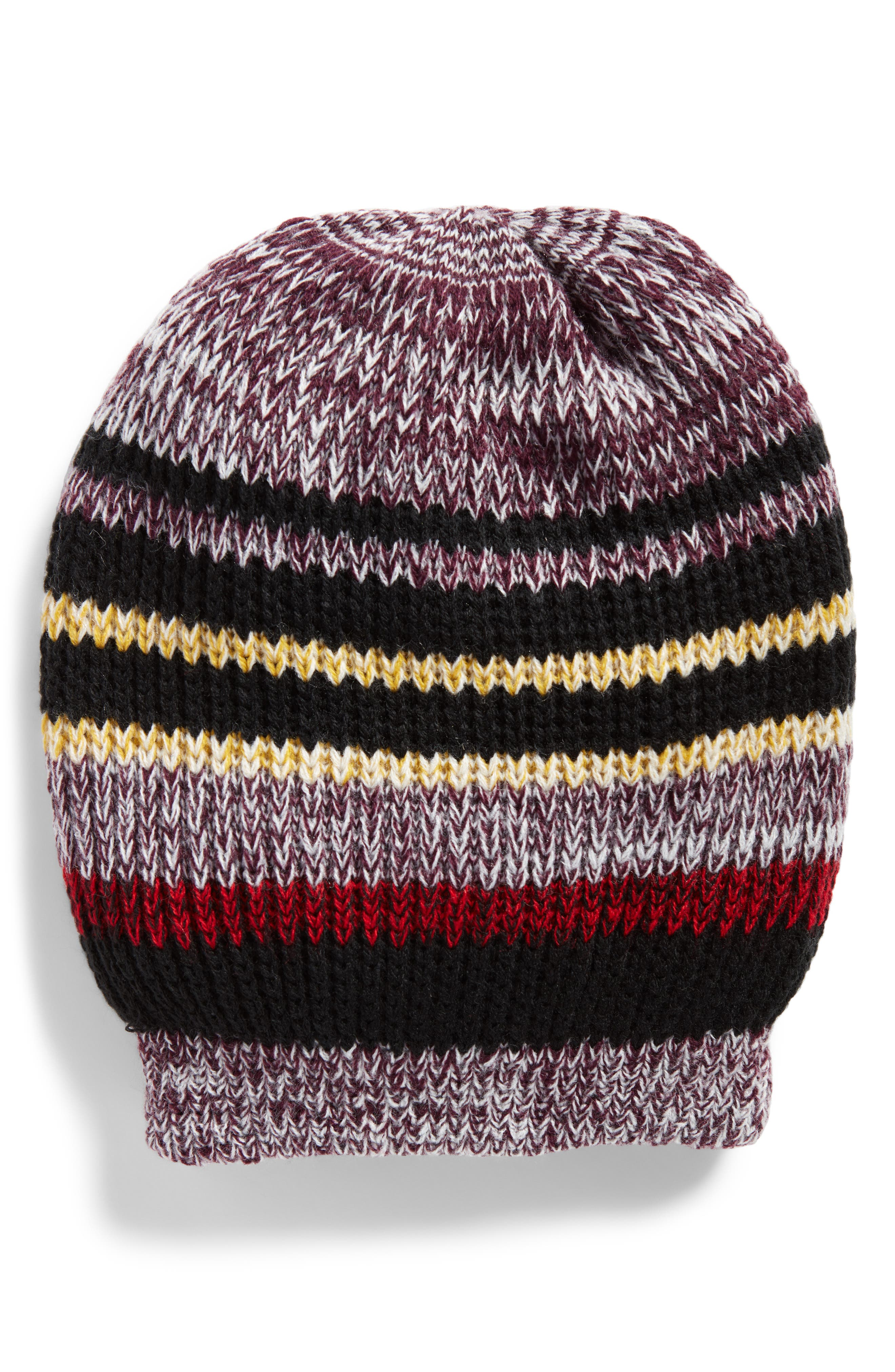 Alternate Image 1 Selected - Free People Everyday Striped Beanie