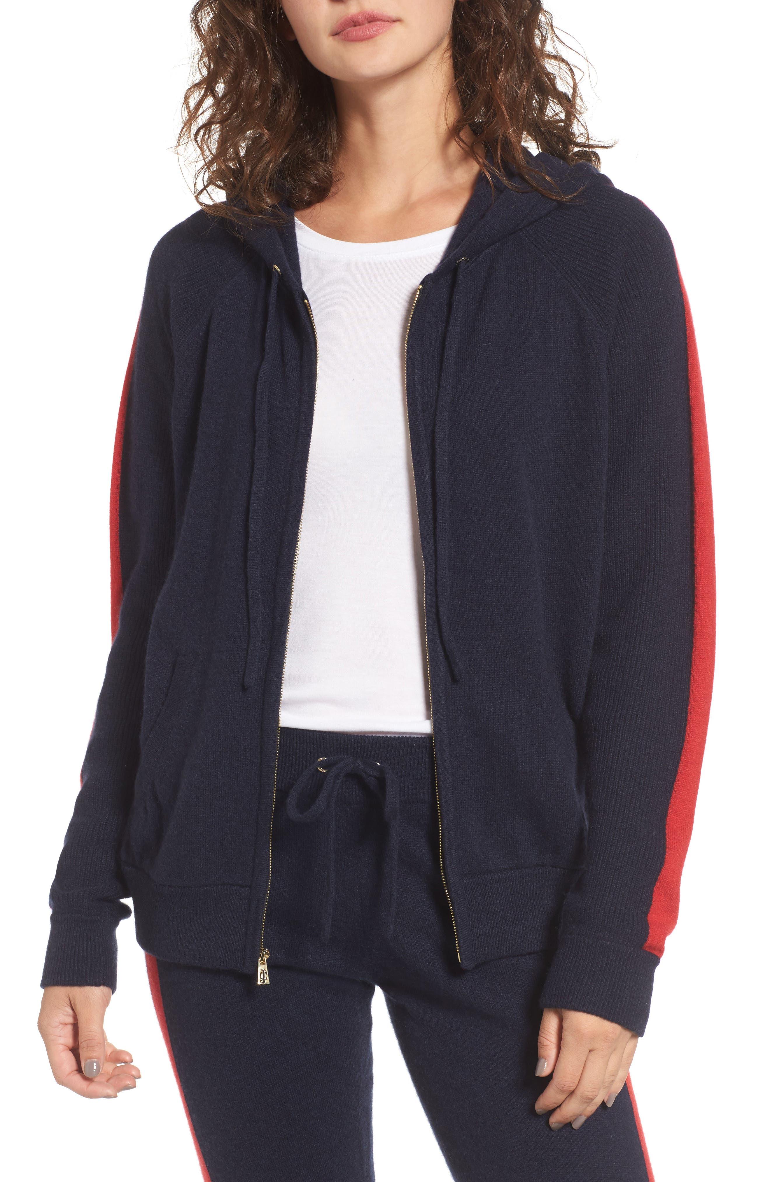 Juicy Couture Cashmere Zip Hoodie