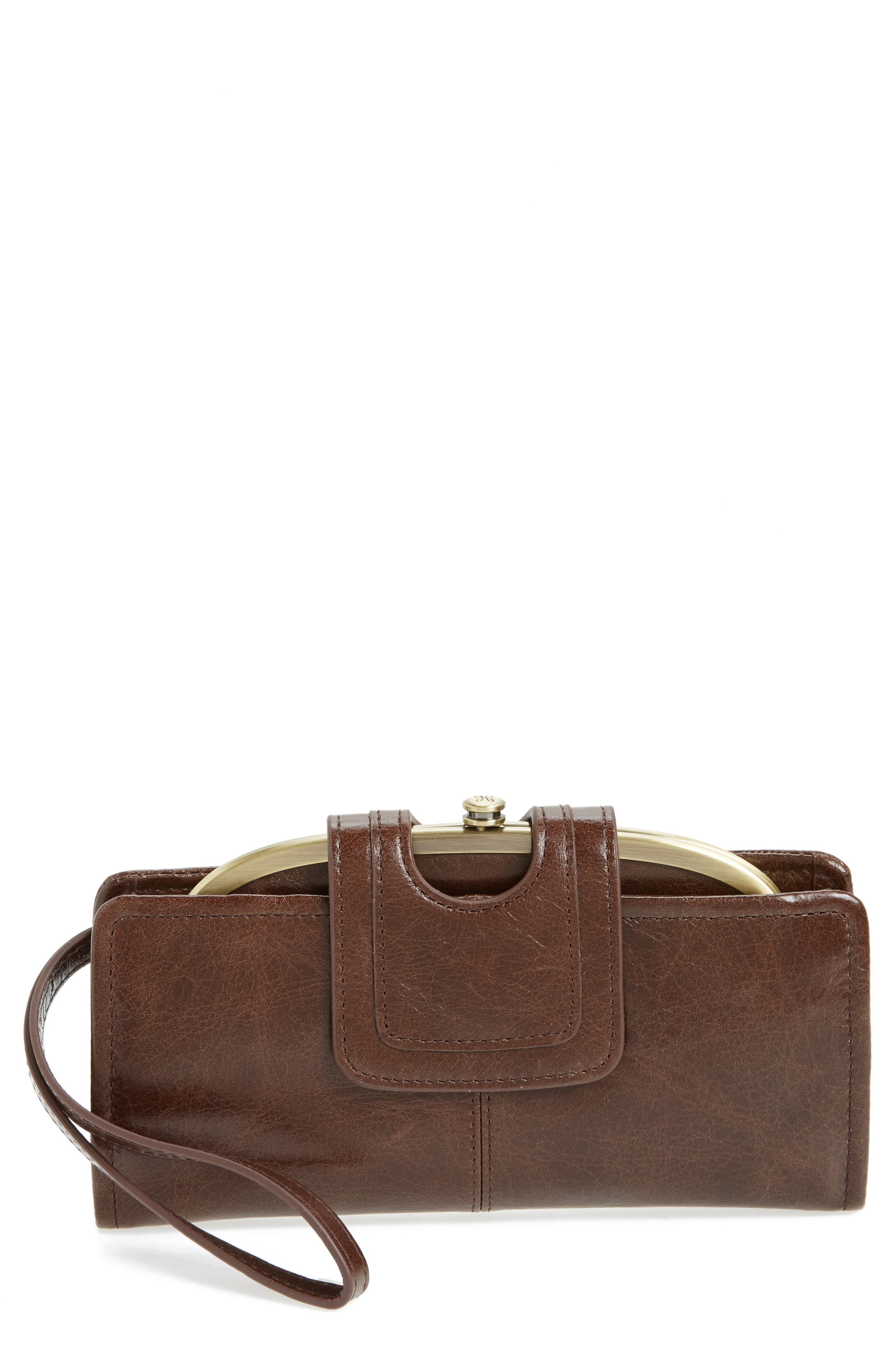Main Image - Hobo Nova Calfskin Leather Wallet