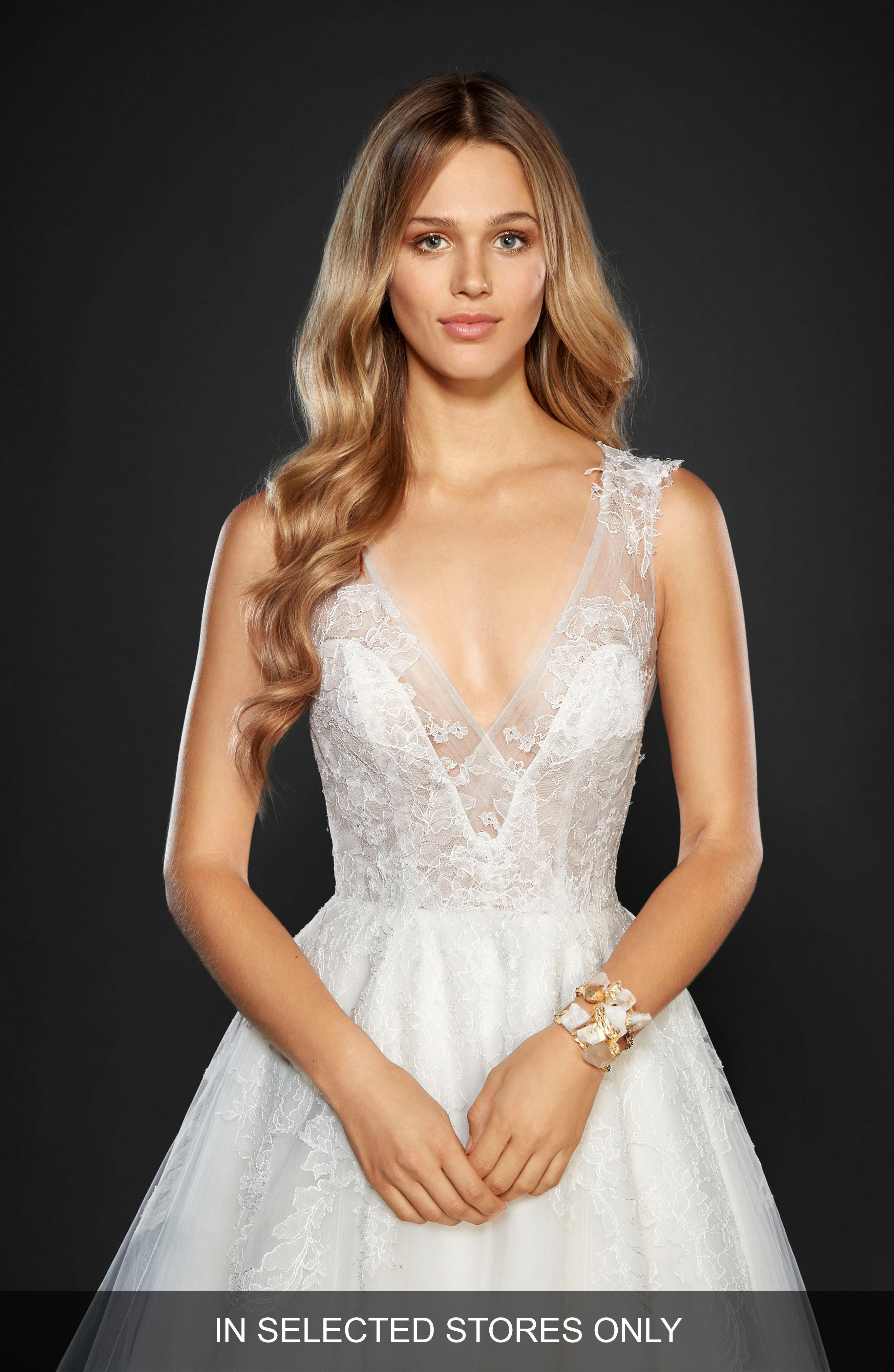 Hayley Paige Winnie Lace & Tulle Ballgown (In Stores Only)