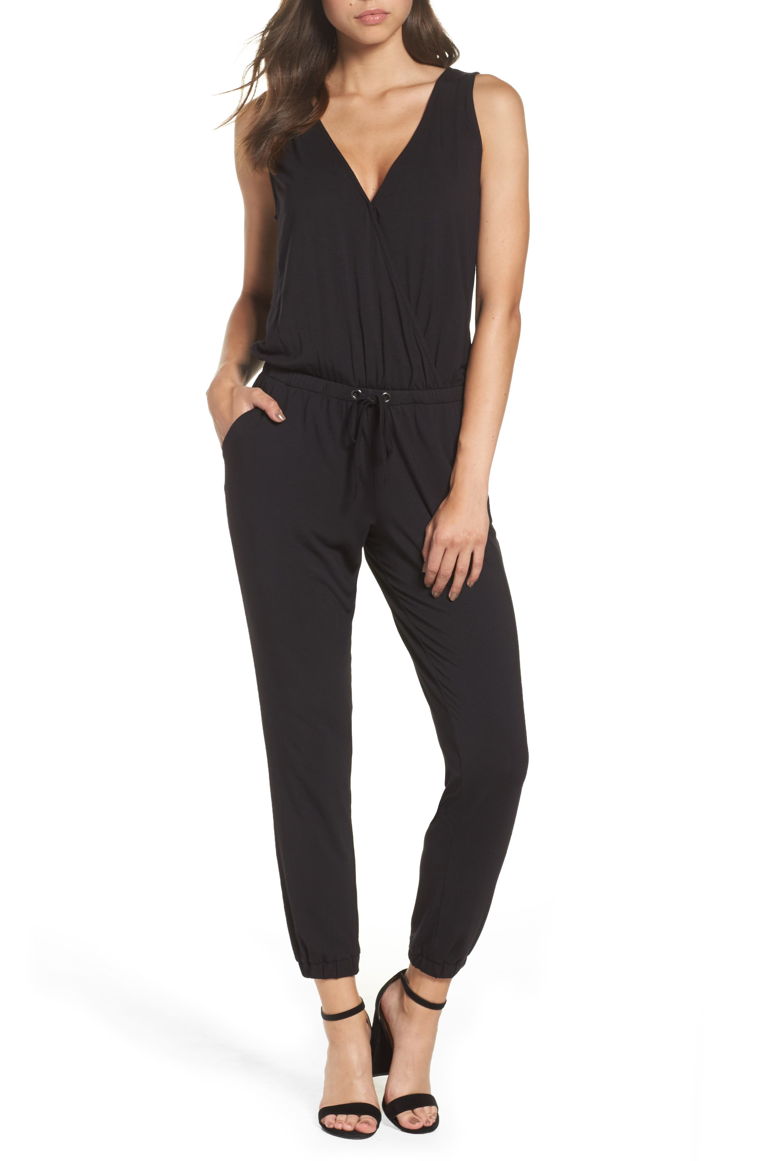 Alternate Image 1 Selected - BB Dakota 'Milligan' Sleeveless Jumpsuit