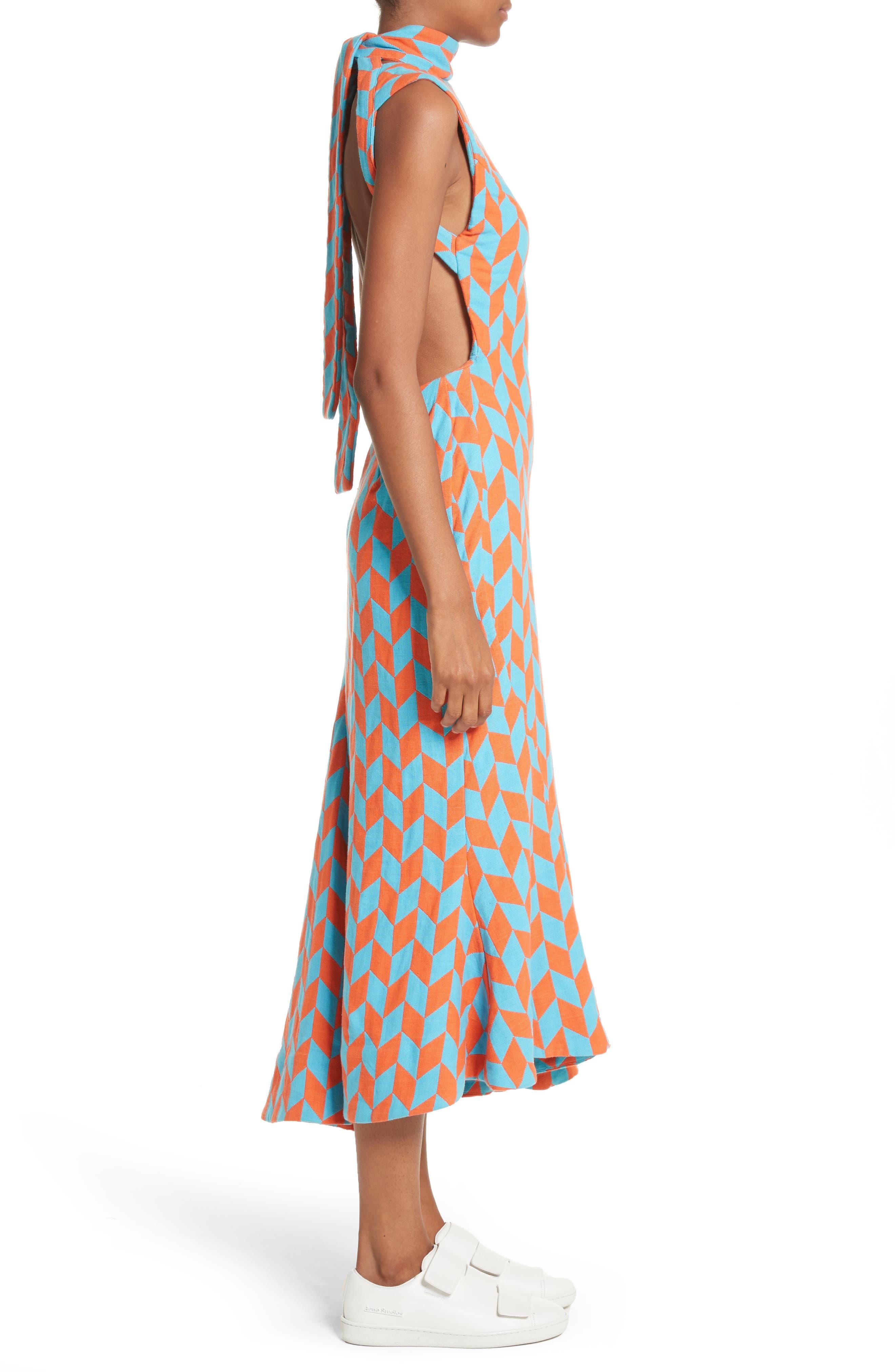 Alternate Image 3  - Richard Malone Backless Twist Seam Dress