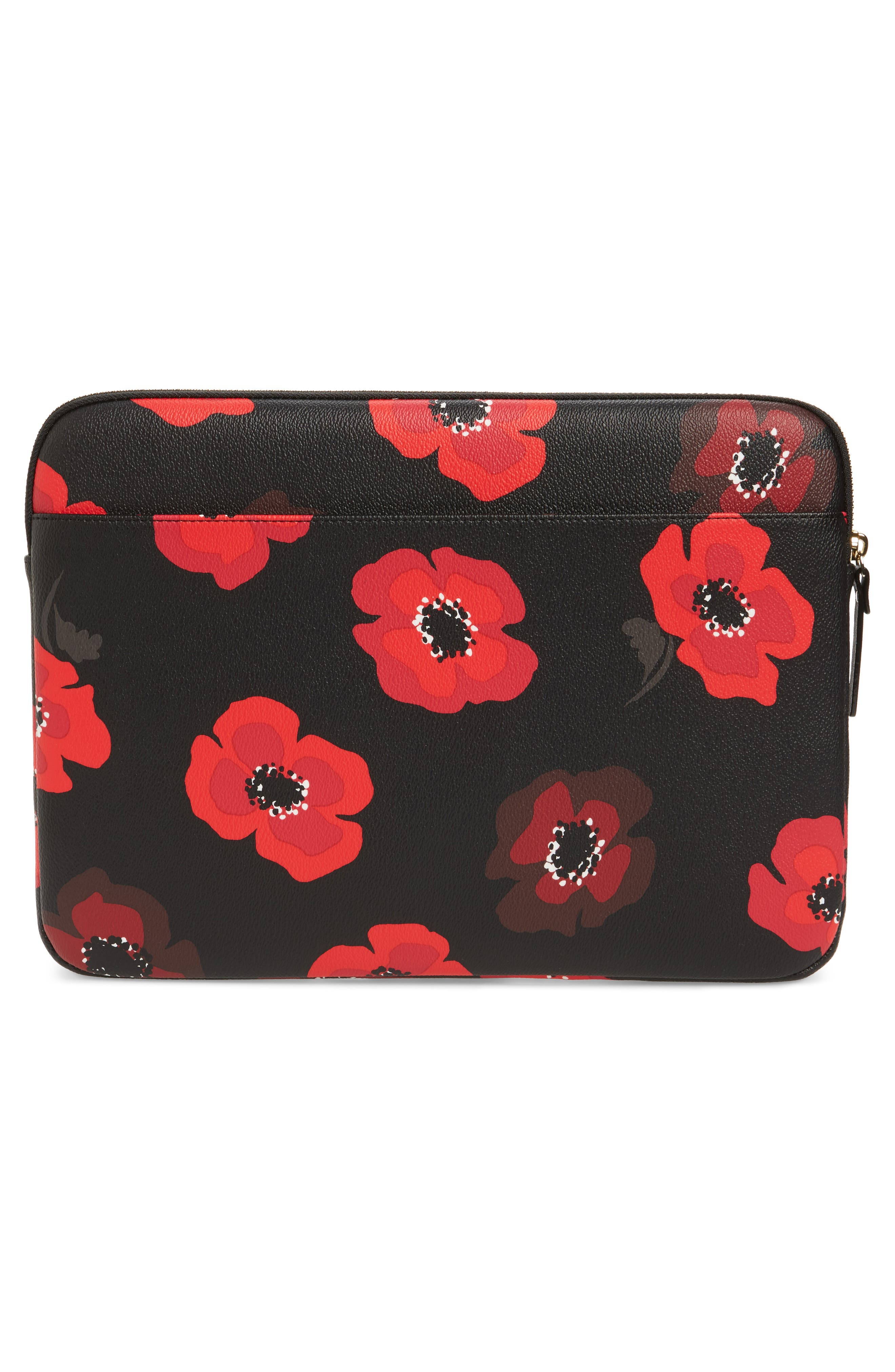 Alternate Image 2  - kate spade new york poppy 13-inch laptop sleeve