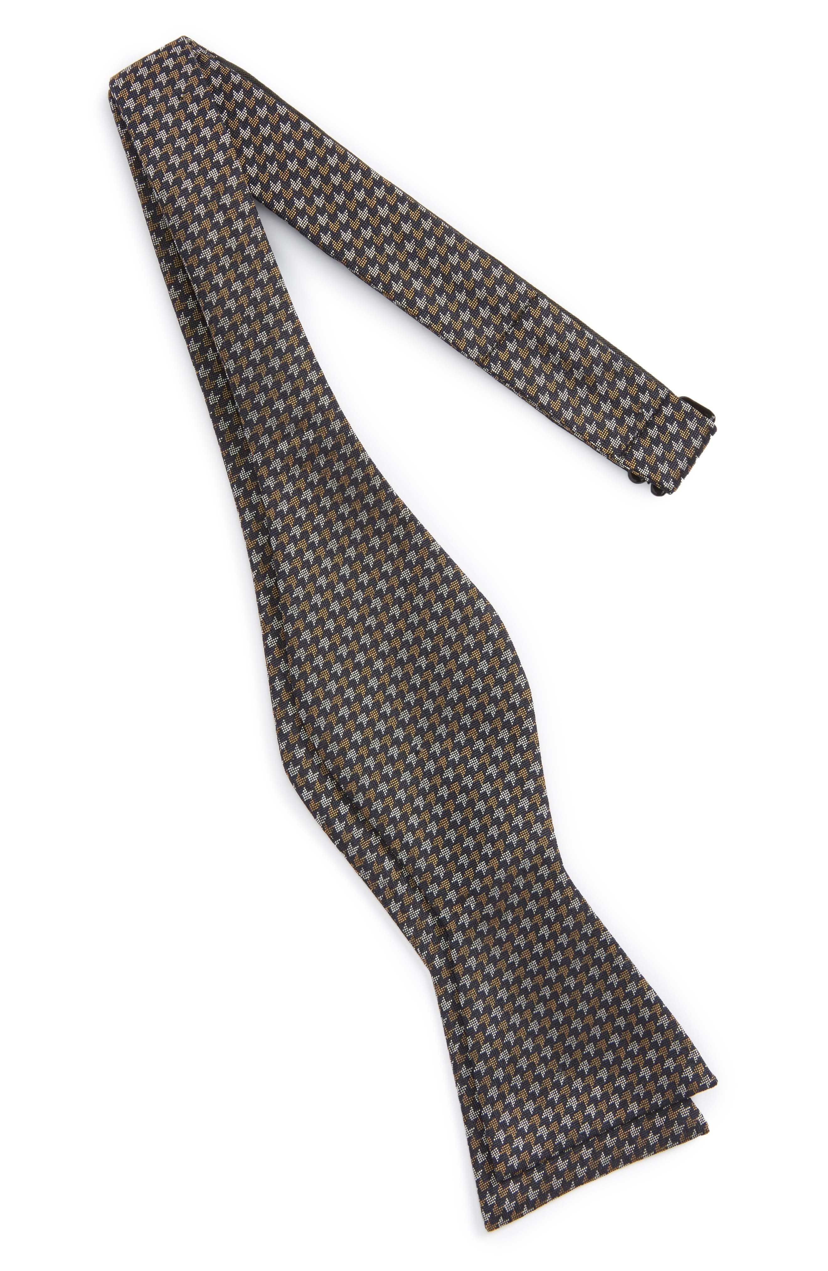 Alternate Image 2  - Calibrate One Way Geometric Silk Bow Tie