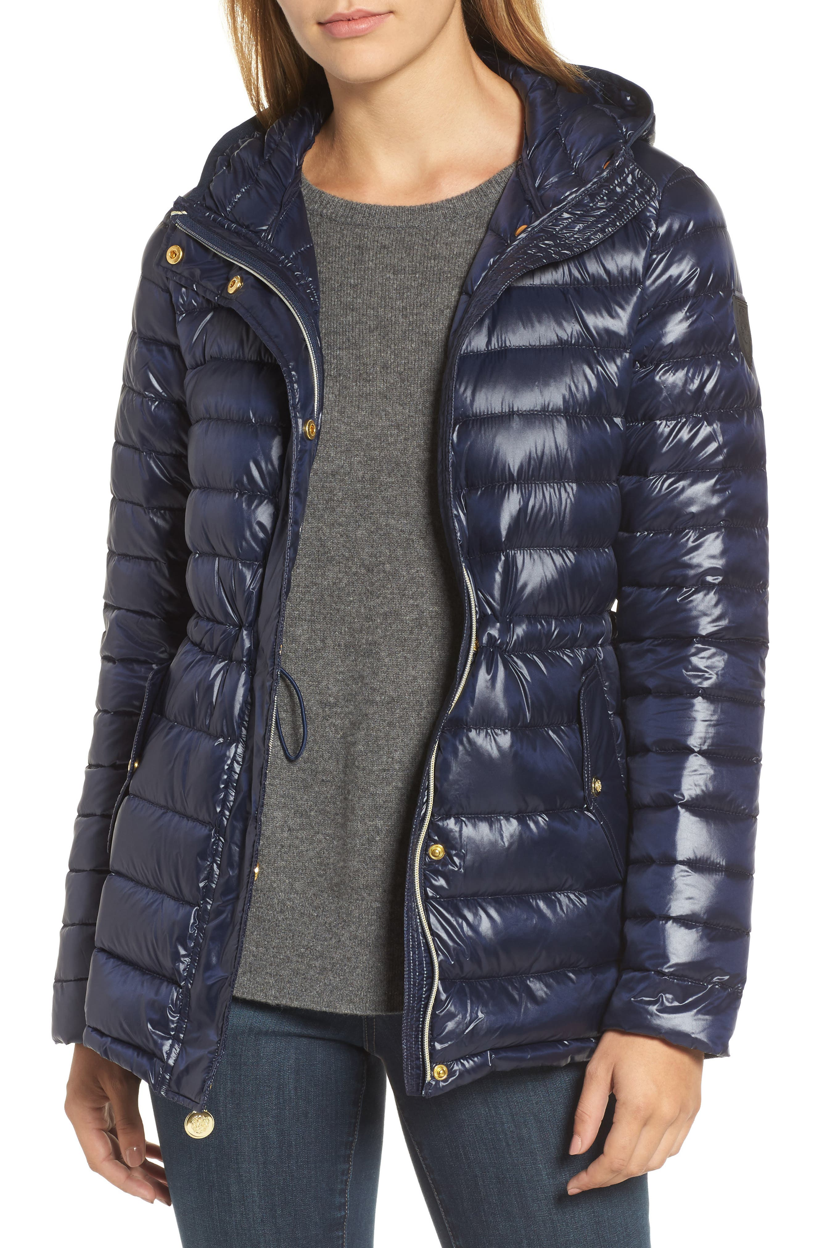 Vince Camuto Hooded Down Jacket
