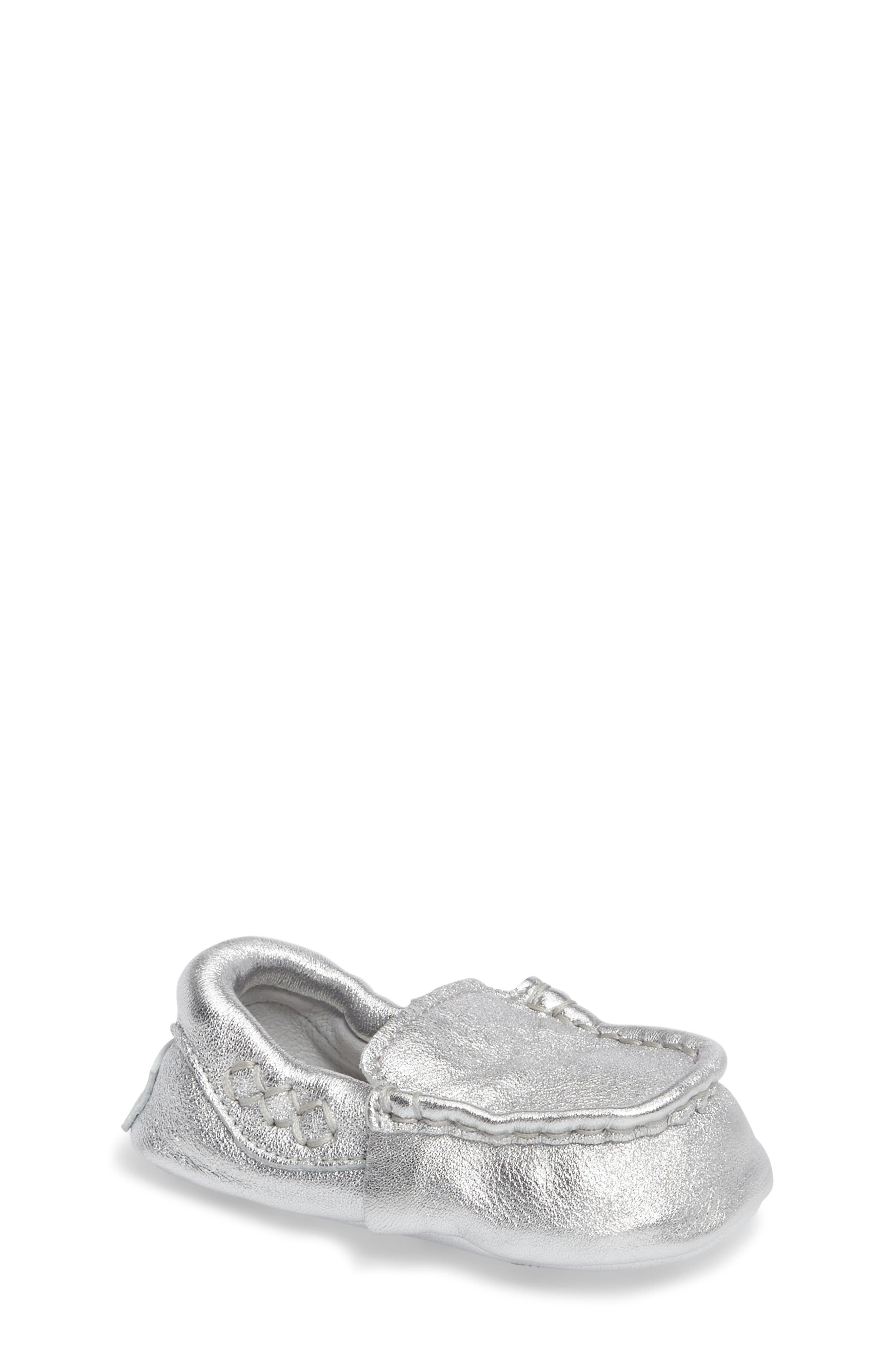 UGG® Sivia Metallic Loafer (Baby)