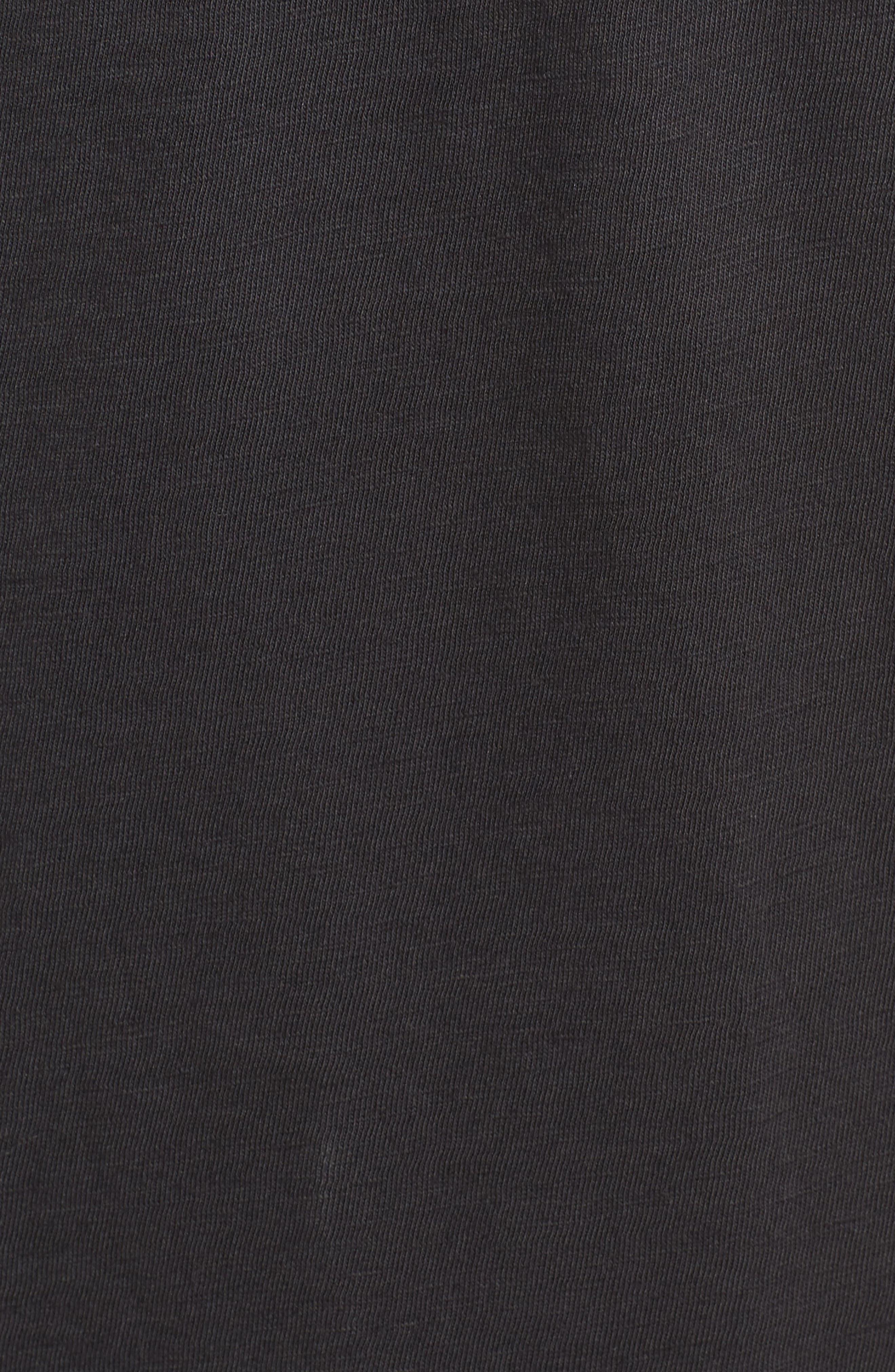Sunset Eagle Pocket T-Shirt,                             Alternate thumbnail 5, color,                             V Black