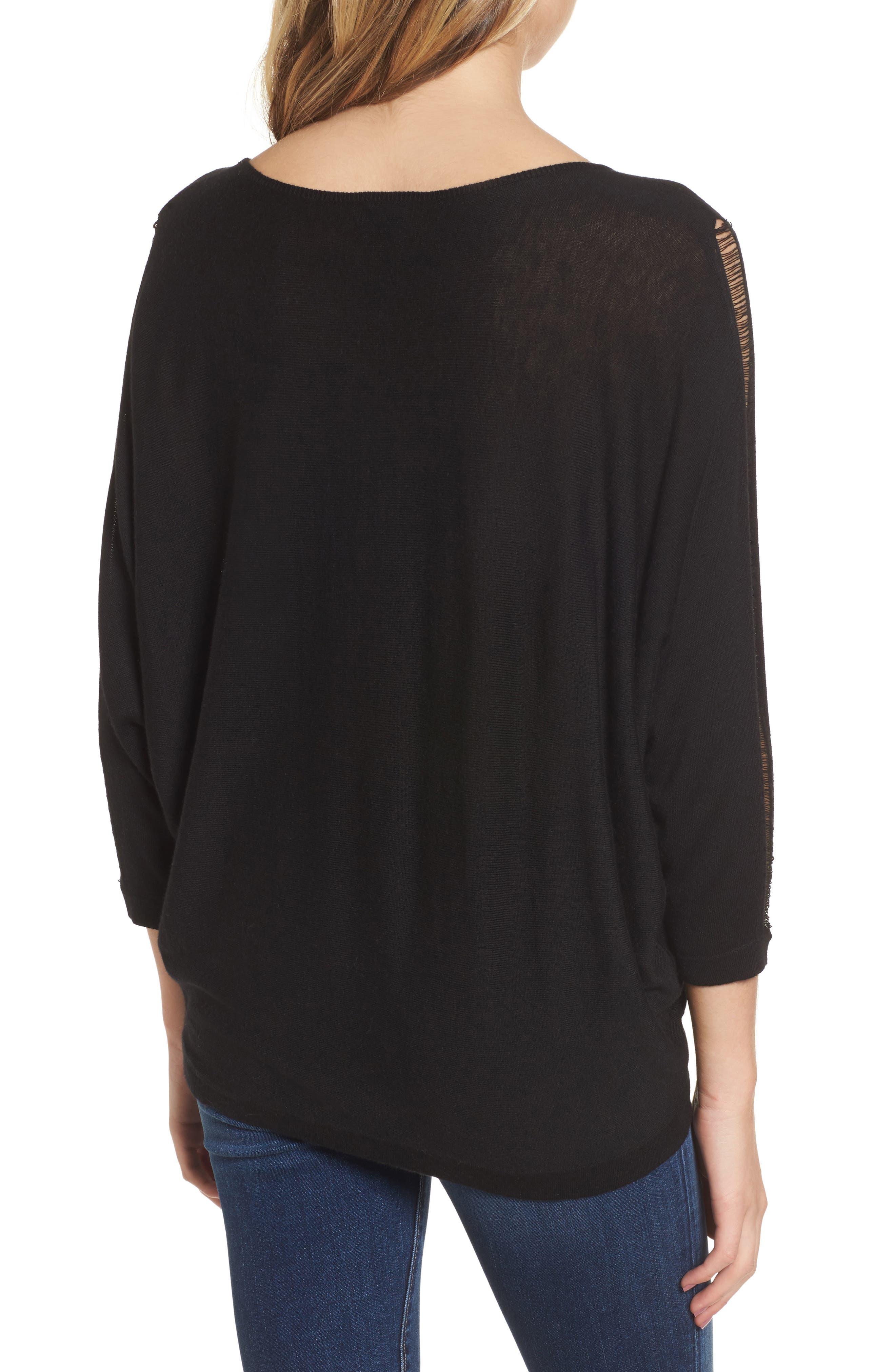 Whitlock Sweater,                             Alternate thumbnail 2, color,                             Black