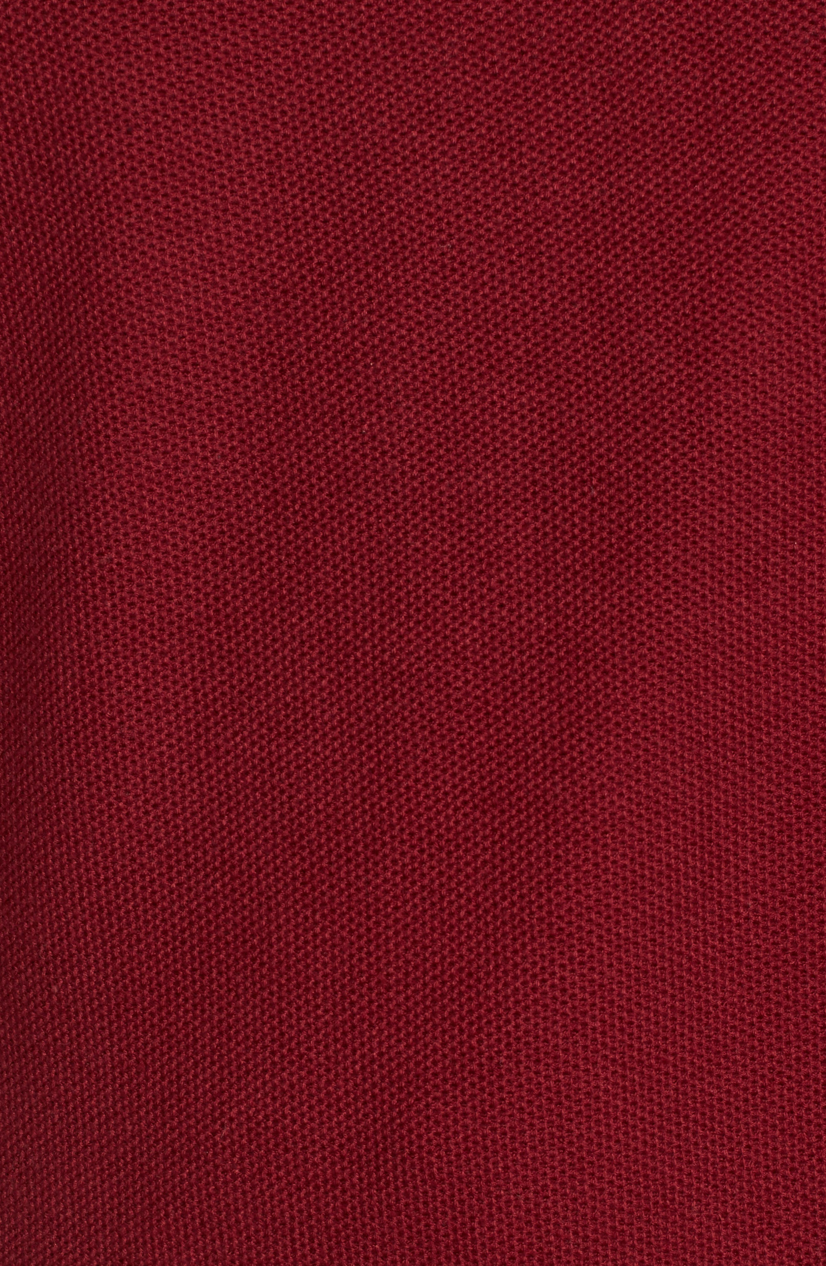 Alternate Image 5  - TailorByrd Prien Tipped Quarter Zip Sweater