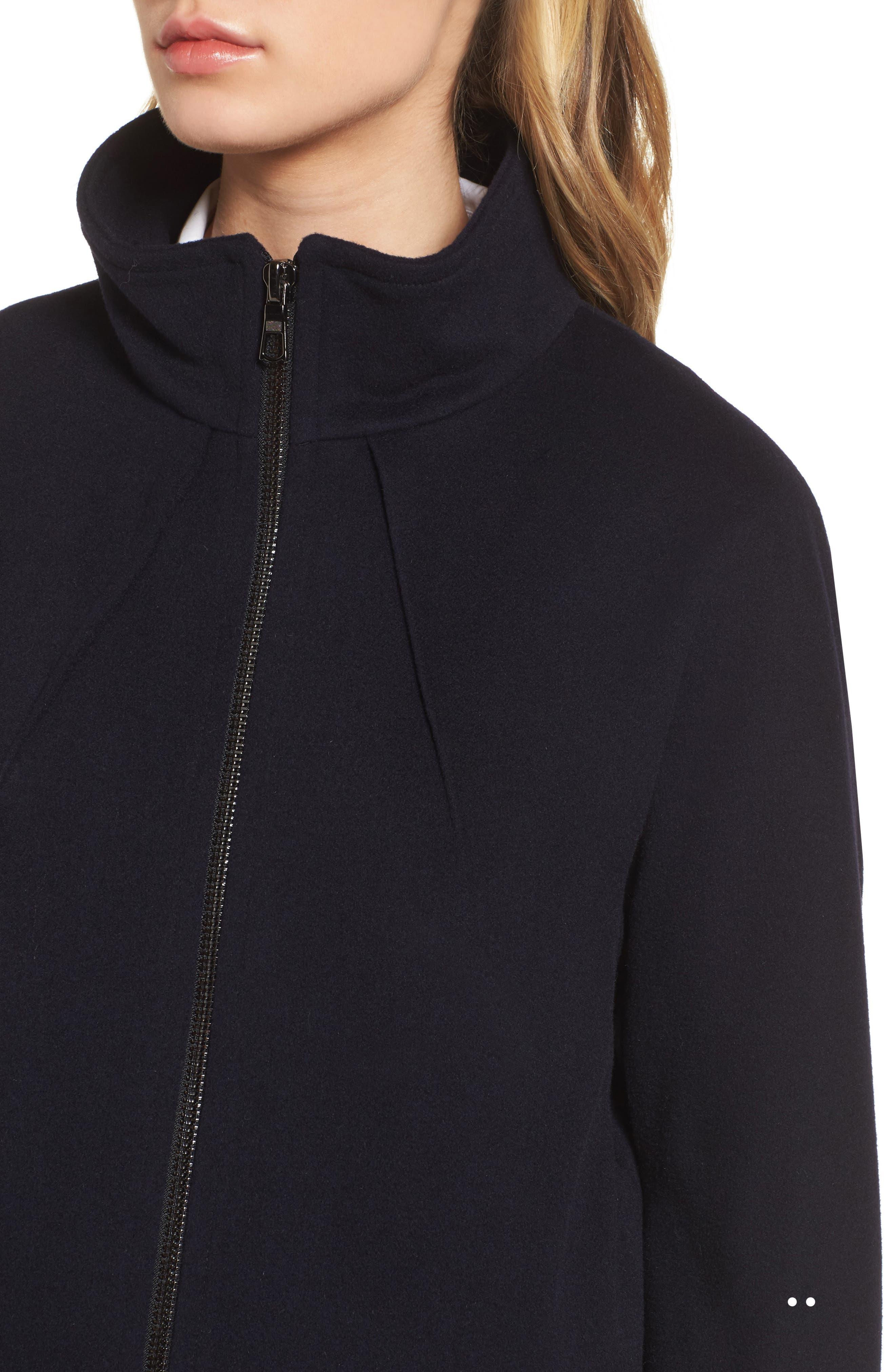 Alternate Image 4  - Sofia Cashmere Dolman Sleeve Coat