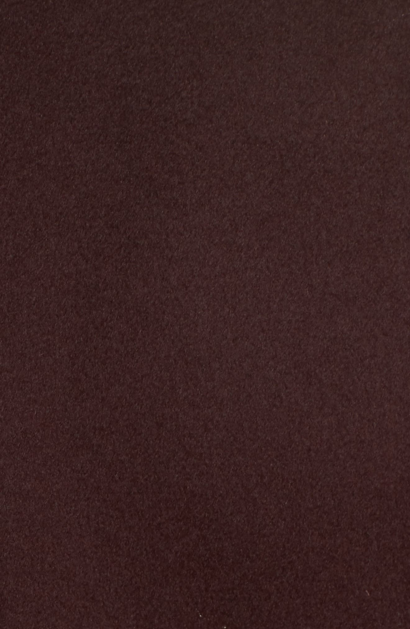 Luna Wool Blend Wrap Coat,                             Alternate thumbnail 6, color,                             Wine