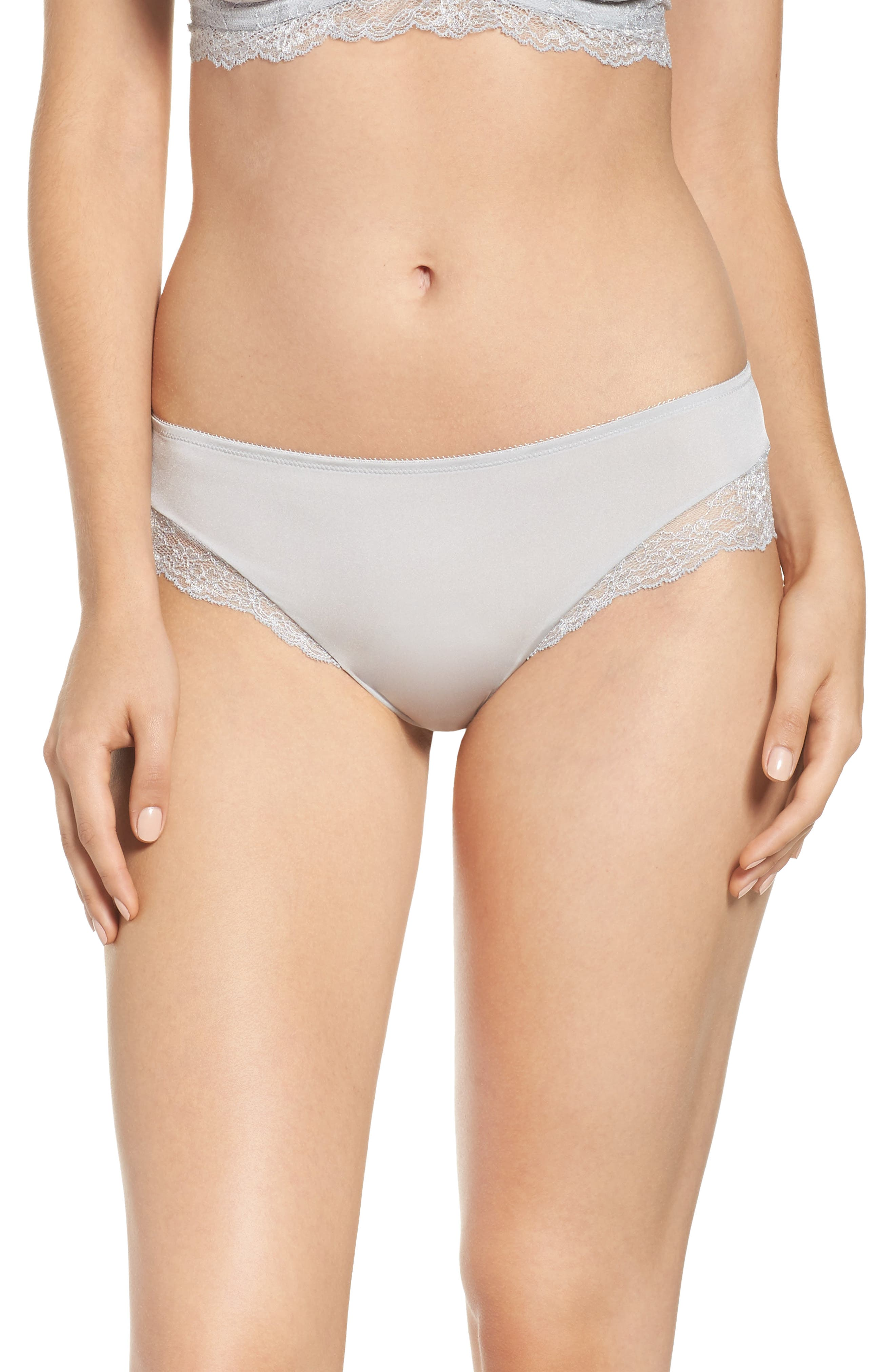 The Perfect 10 Tanga,                         Main,                         color, Frost Grey