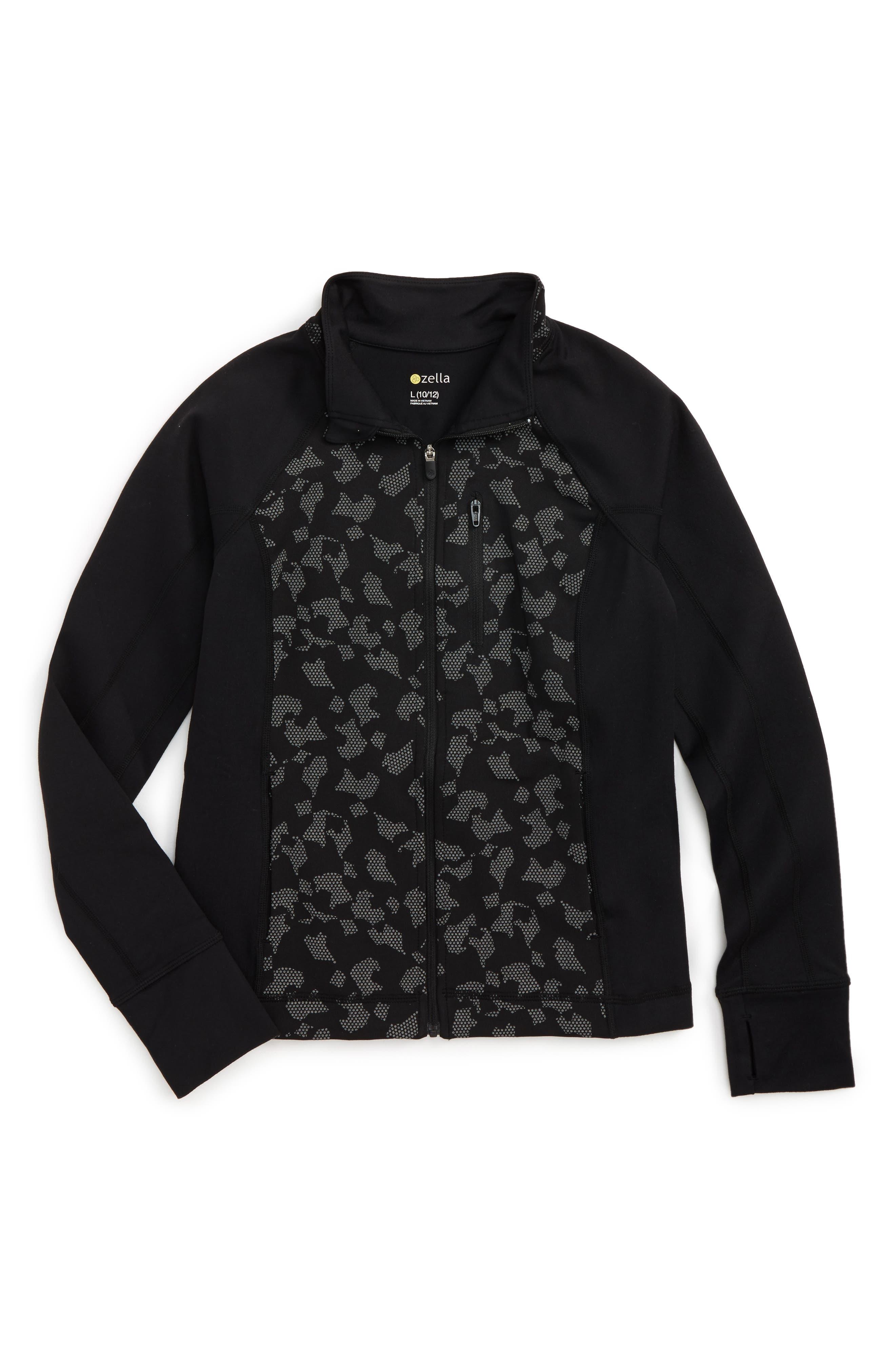 Reflective Shadow Jacket,                         Main,                         color, Black Dot Reflective