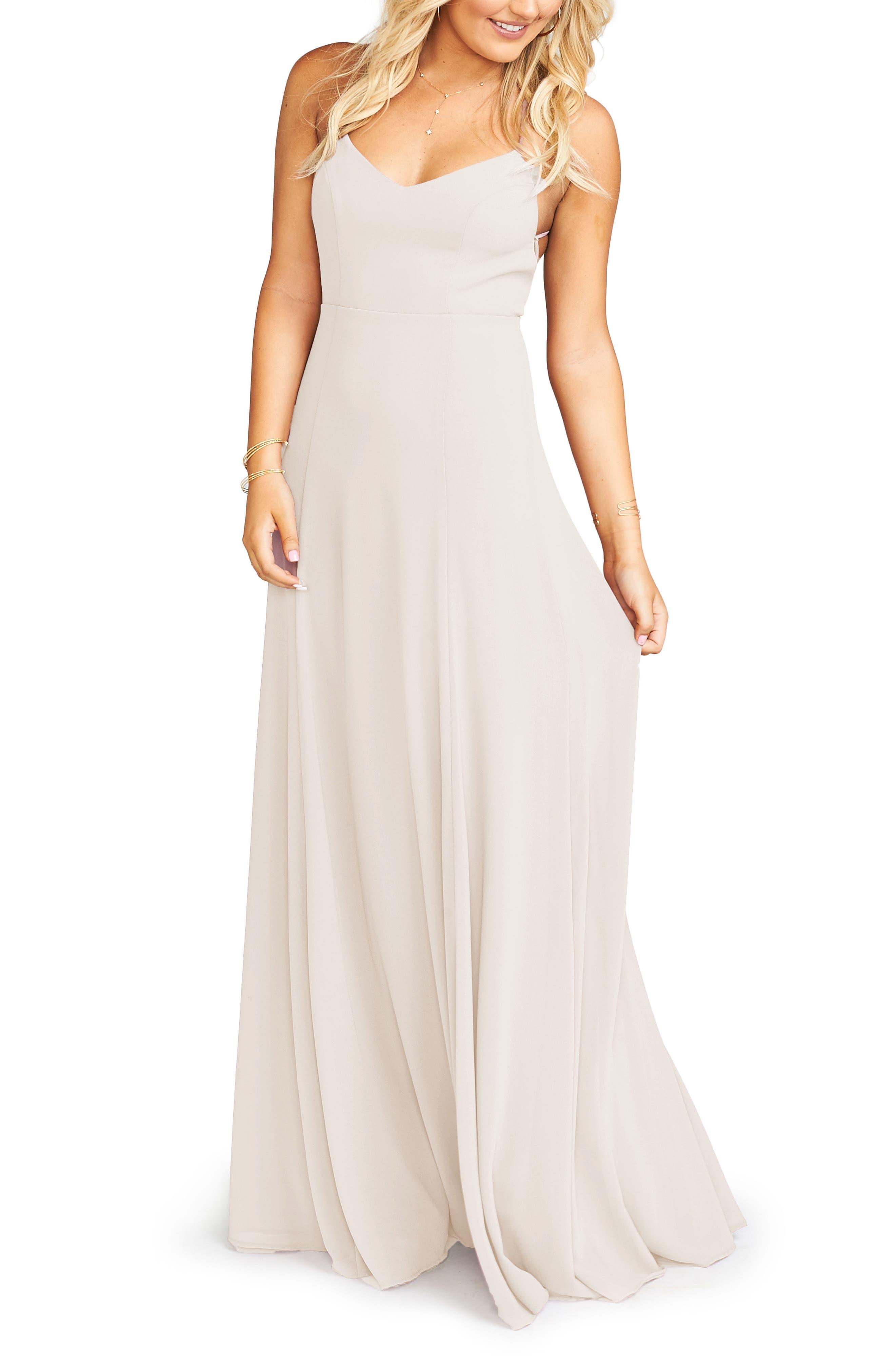 Show Me Your Mumu Godshaw Chiffon Gown