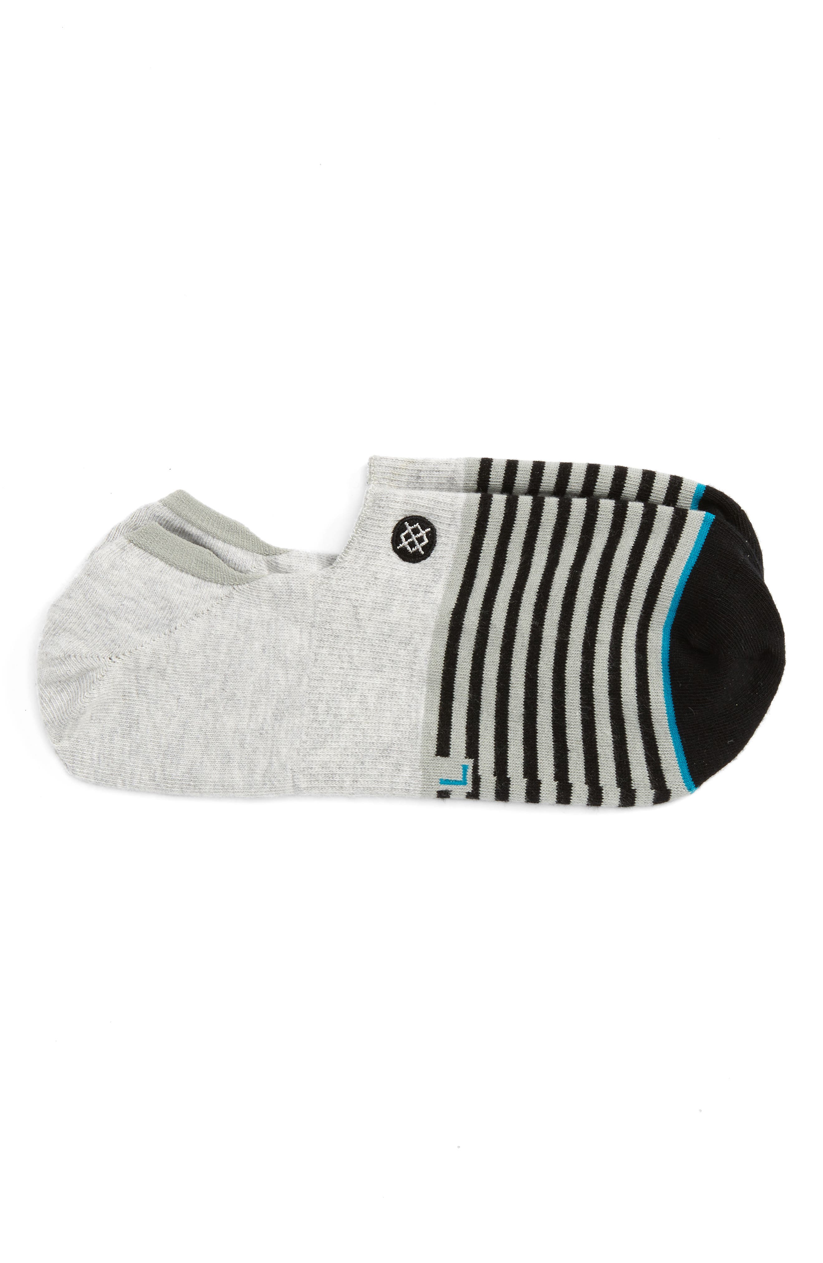 Alternate Image 1 Selected - Stance Nagano Striped No-Show Socks