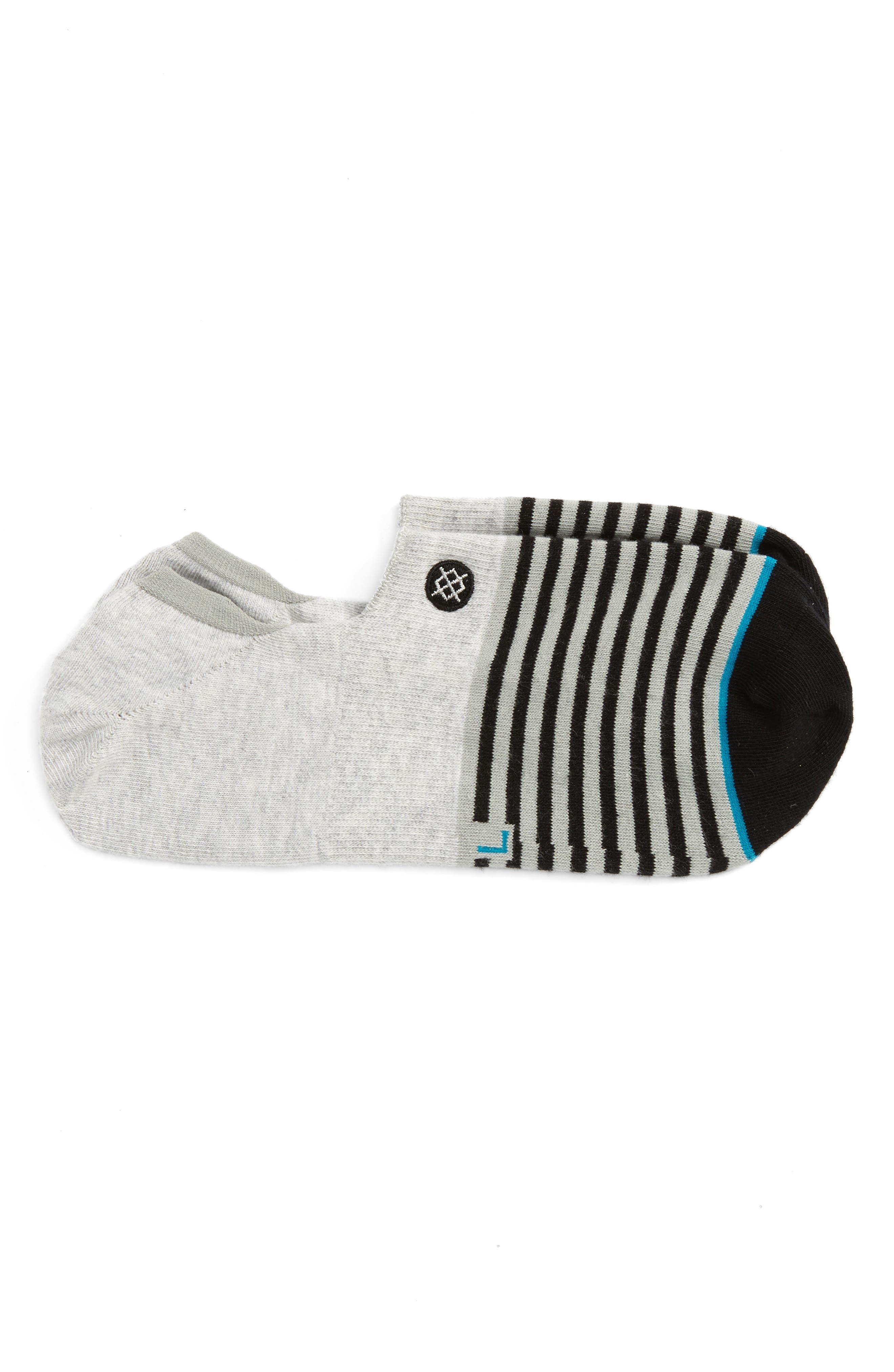 Main Image - Stance Nagano Striped No-Show Socks