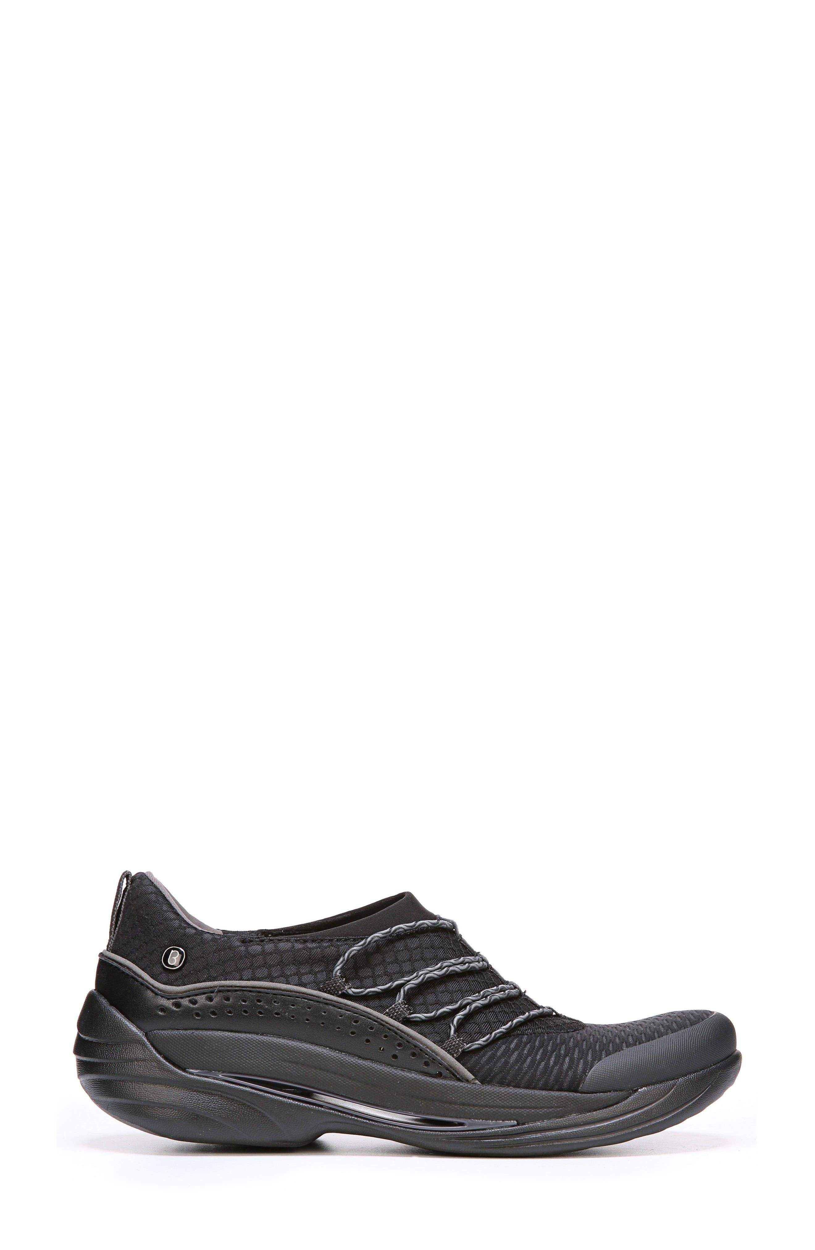 Pisces Slip-On Sneaker,                             Alternate thumbnail 3, color,                             Black