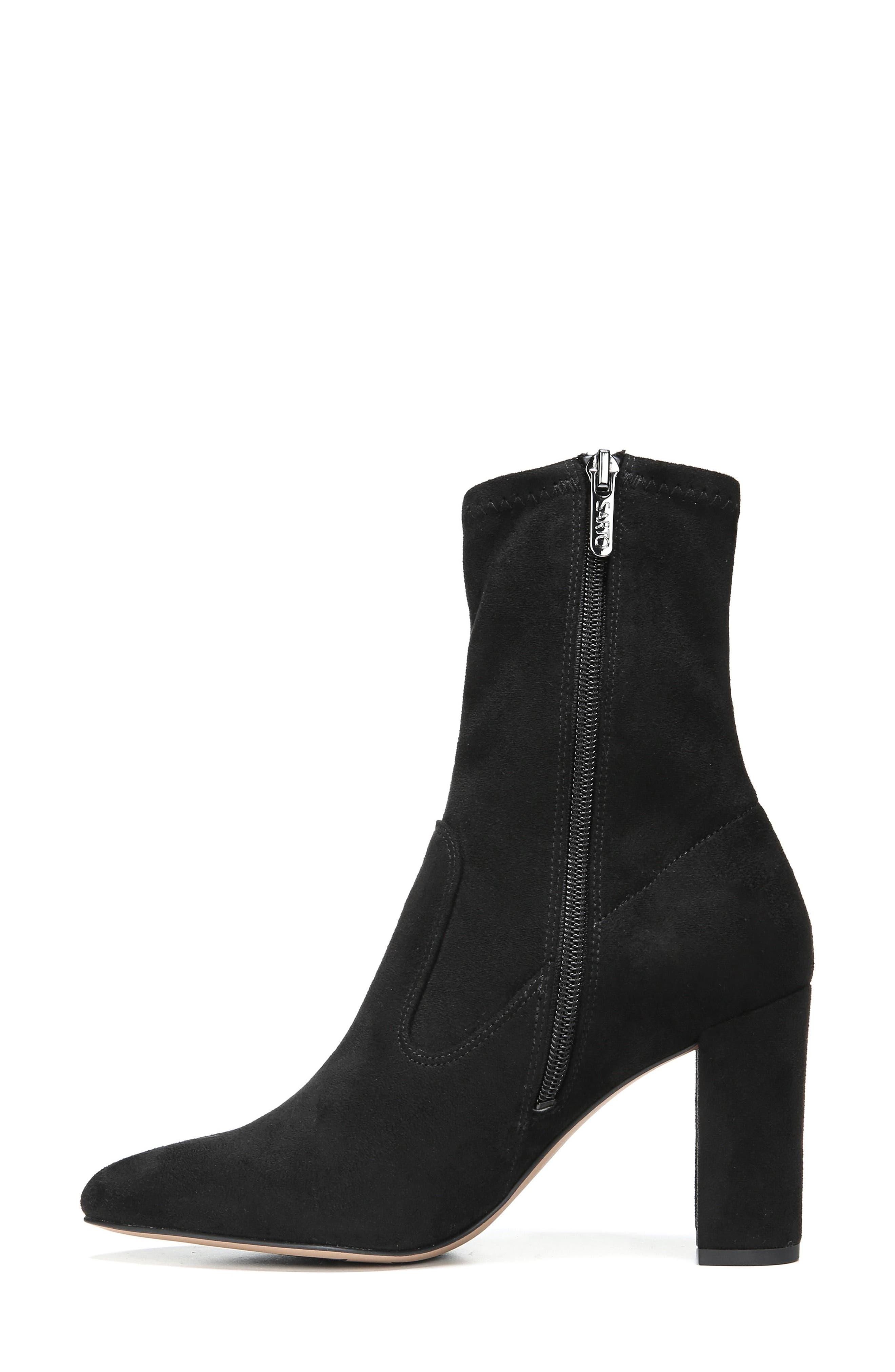 Fancy Boot,                             Alternate thumbnail 2, color,                             Black Suede