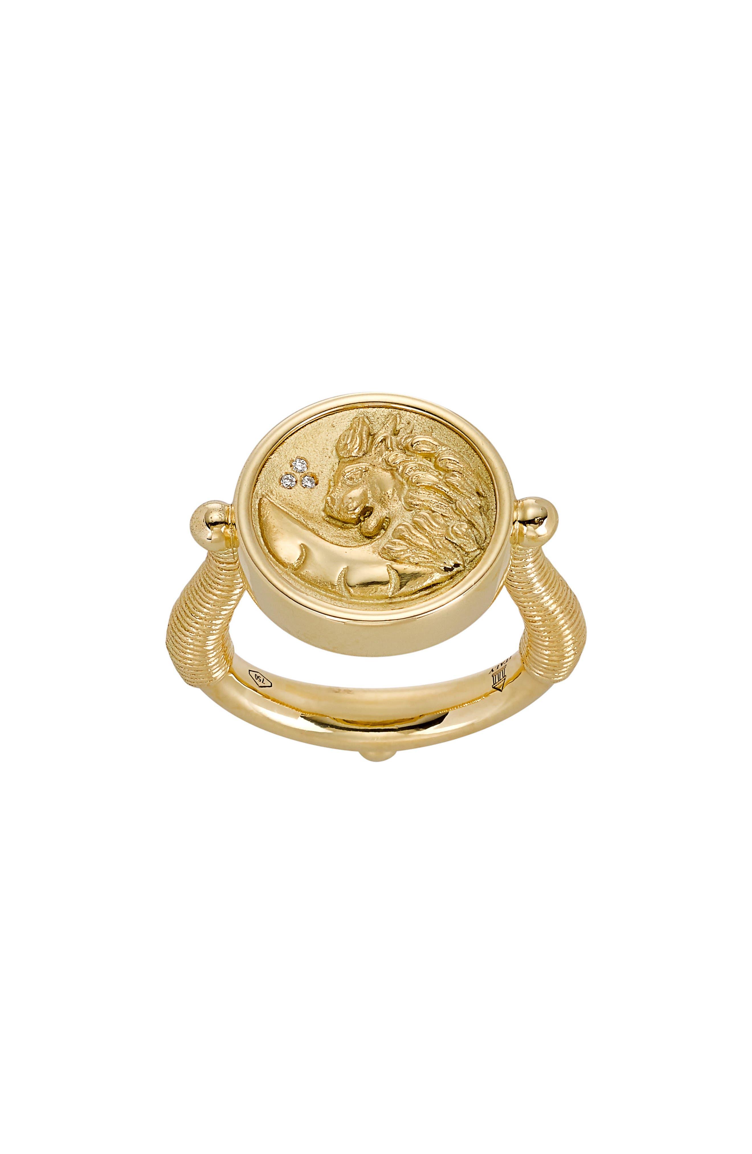 Temple St. Clair Object Trouvé Diamond Ring