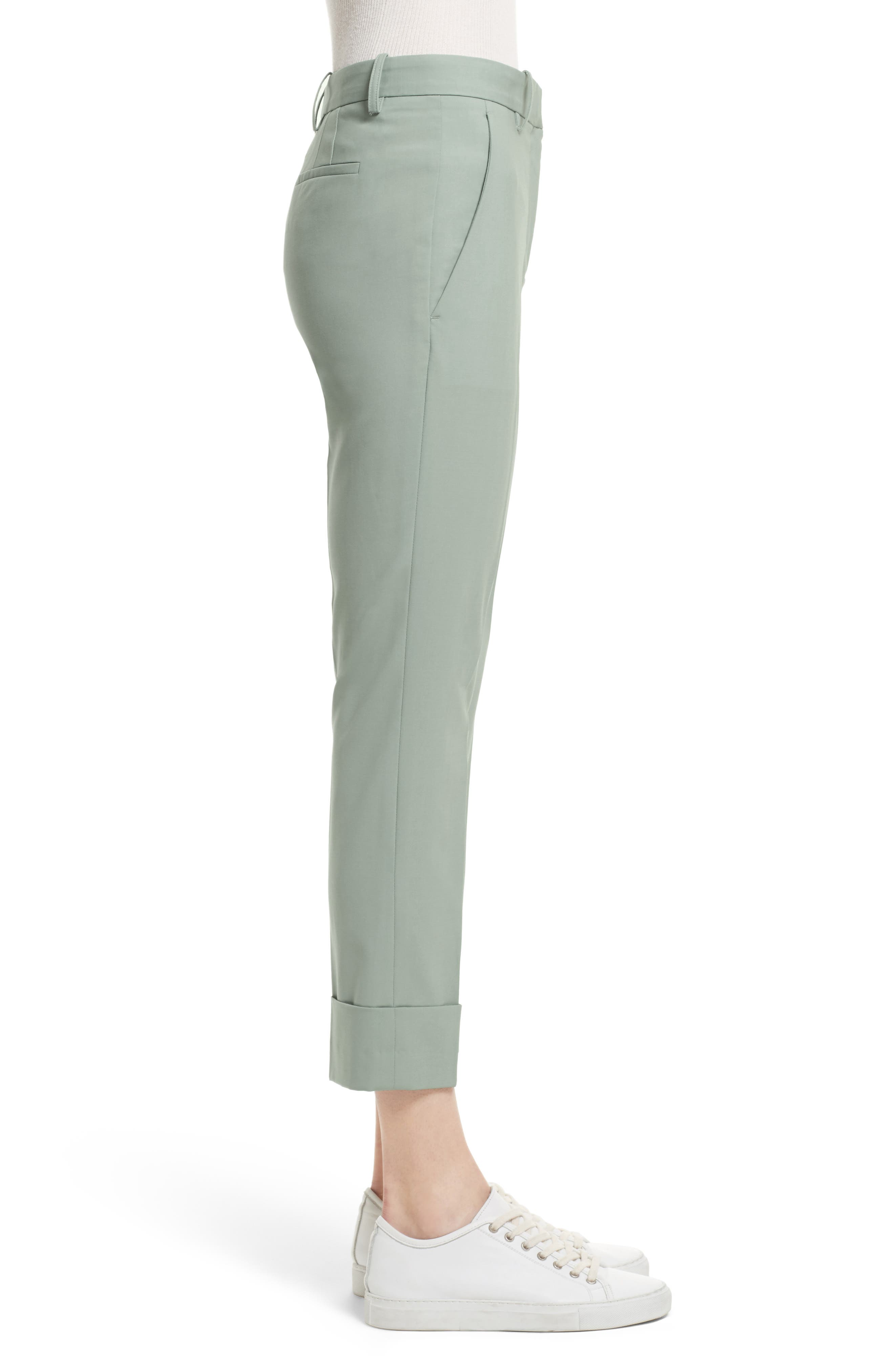 Alternate Image 3  - Theory Stretch Wool Crop Pants