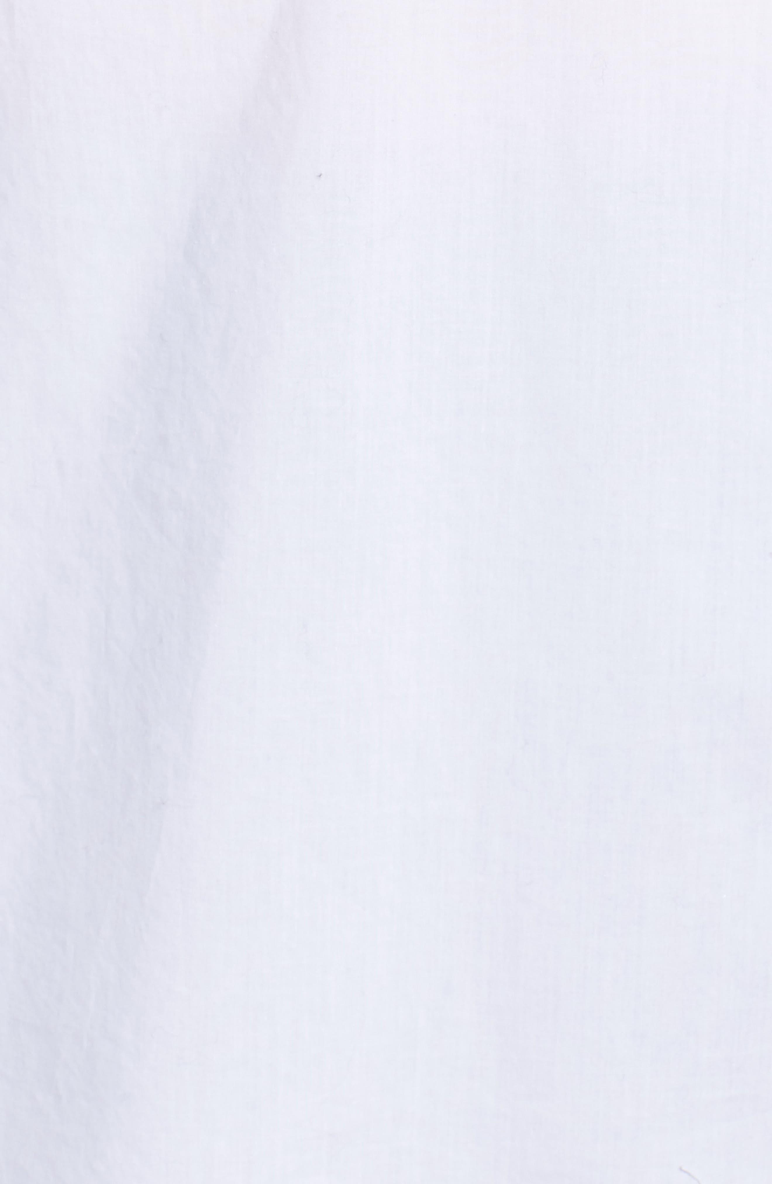 Alternate Image 5  - Caslon® Popover Shirt (Plus Size)