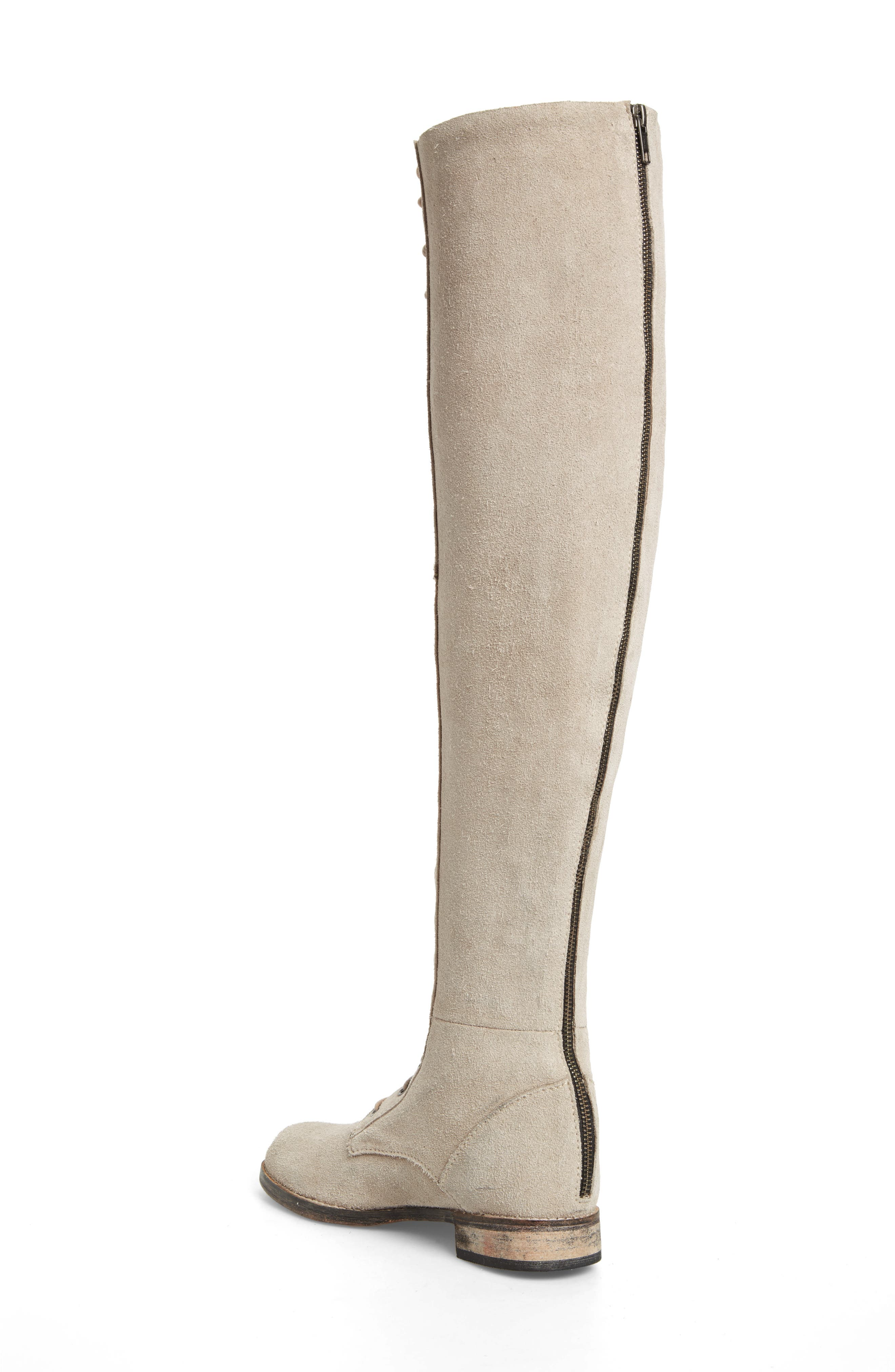 Alternate Image 2  - Free People Tennessee Over the Knee Boot (Women)