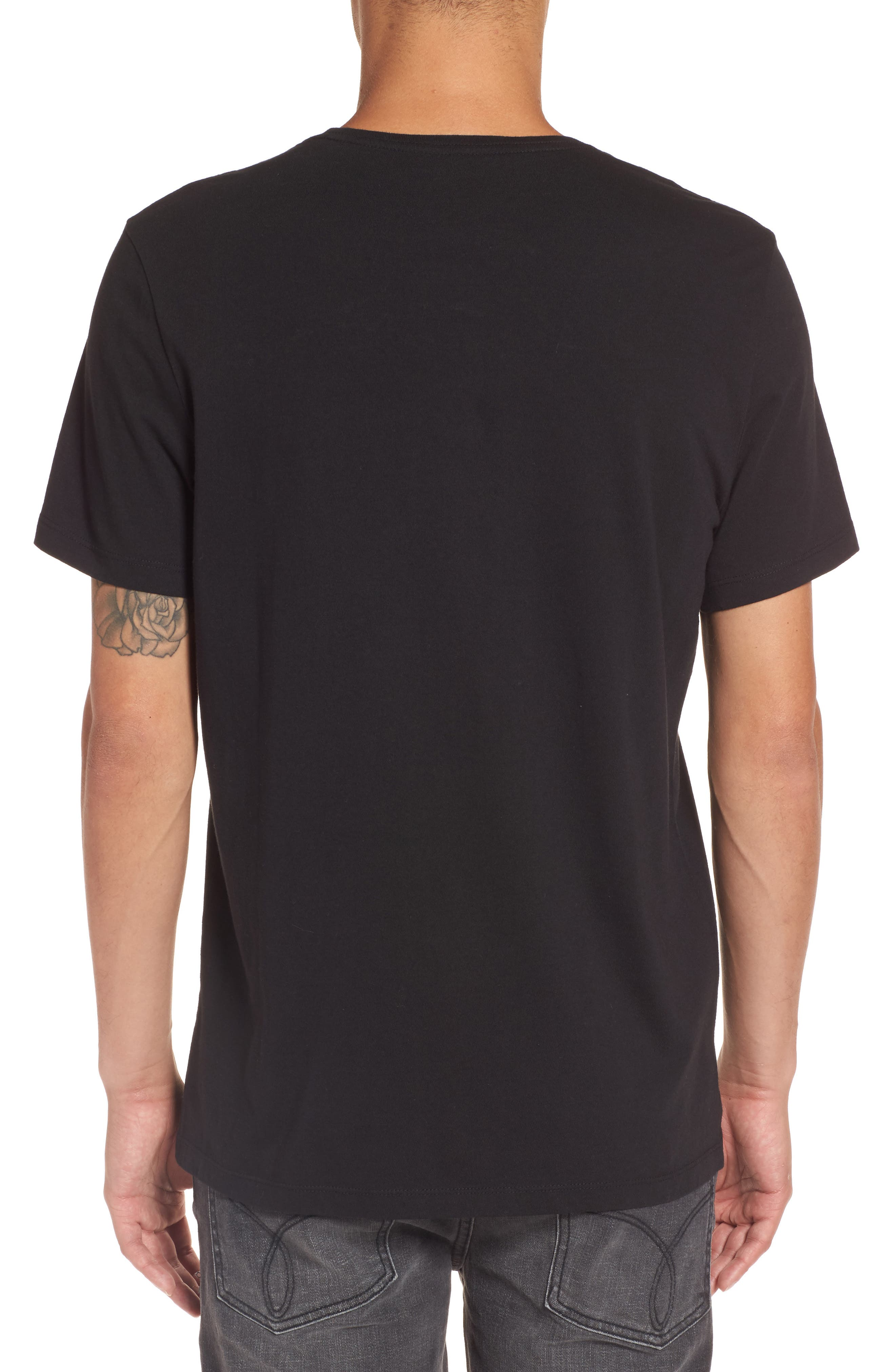 Reissue T-Shirt,                             Alternate thumbnail 2, color,                             Black