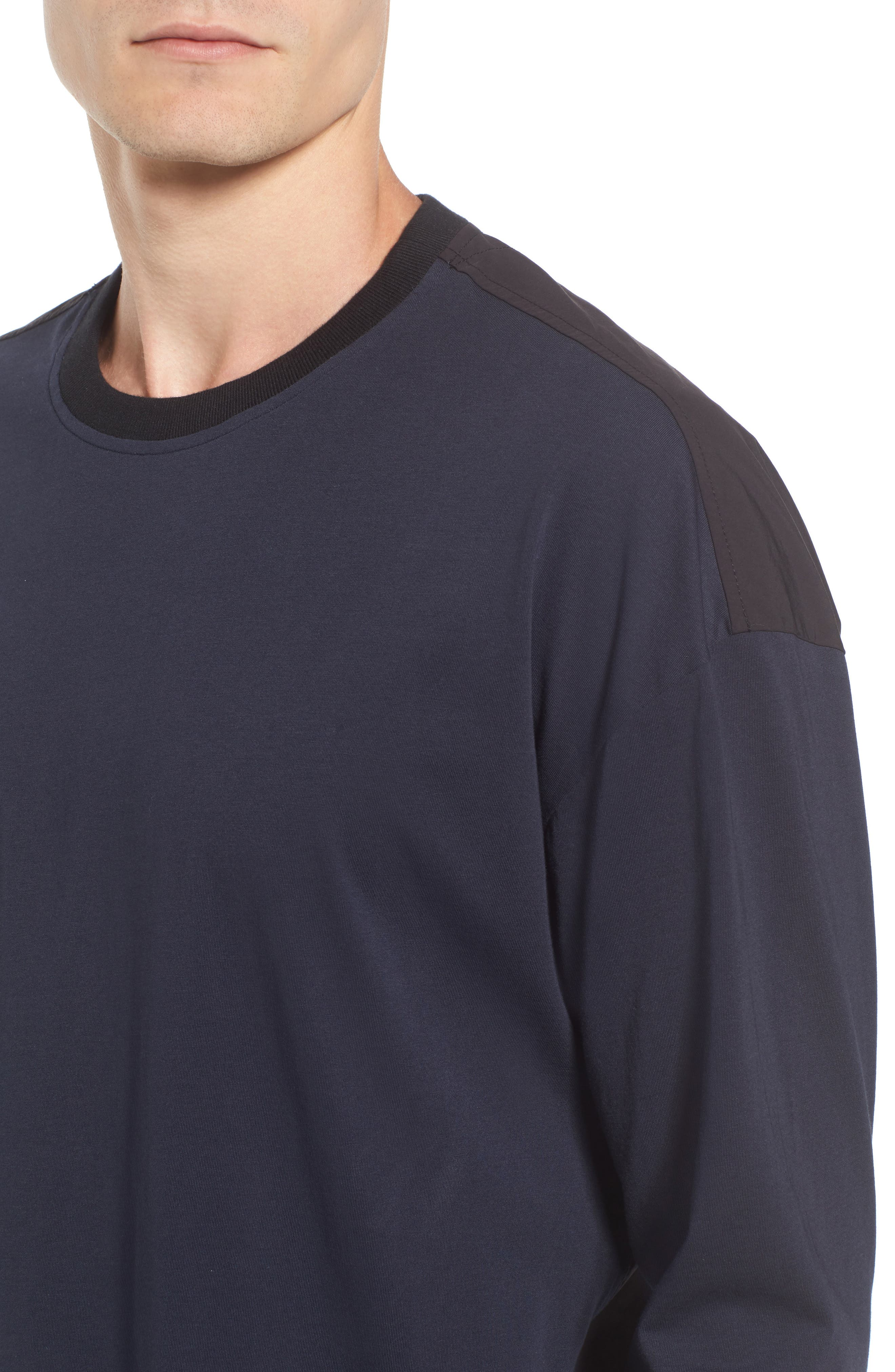 Alternate Image 4  - Scotch & Soda Two-Tone T-Shirt