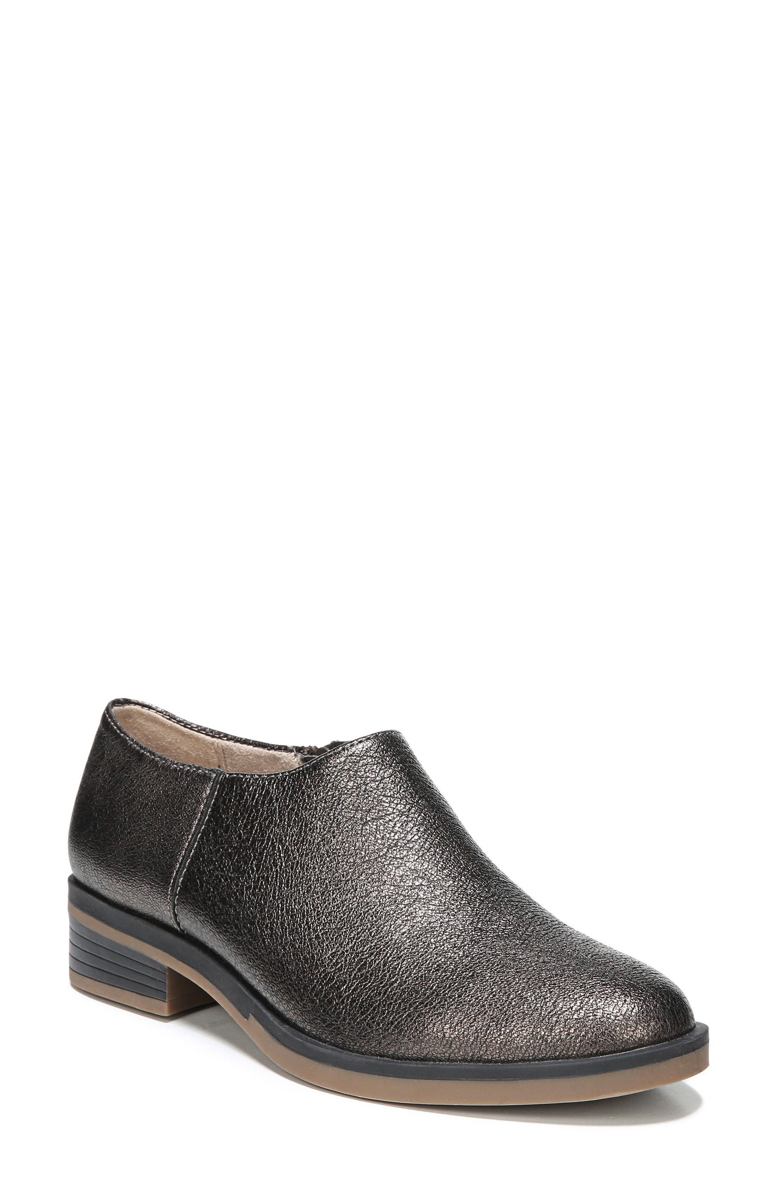 Reagan Bootie,                         Main,                         color, Bronze Leather
