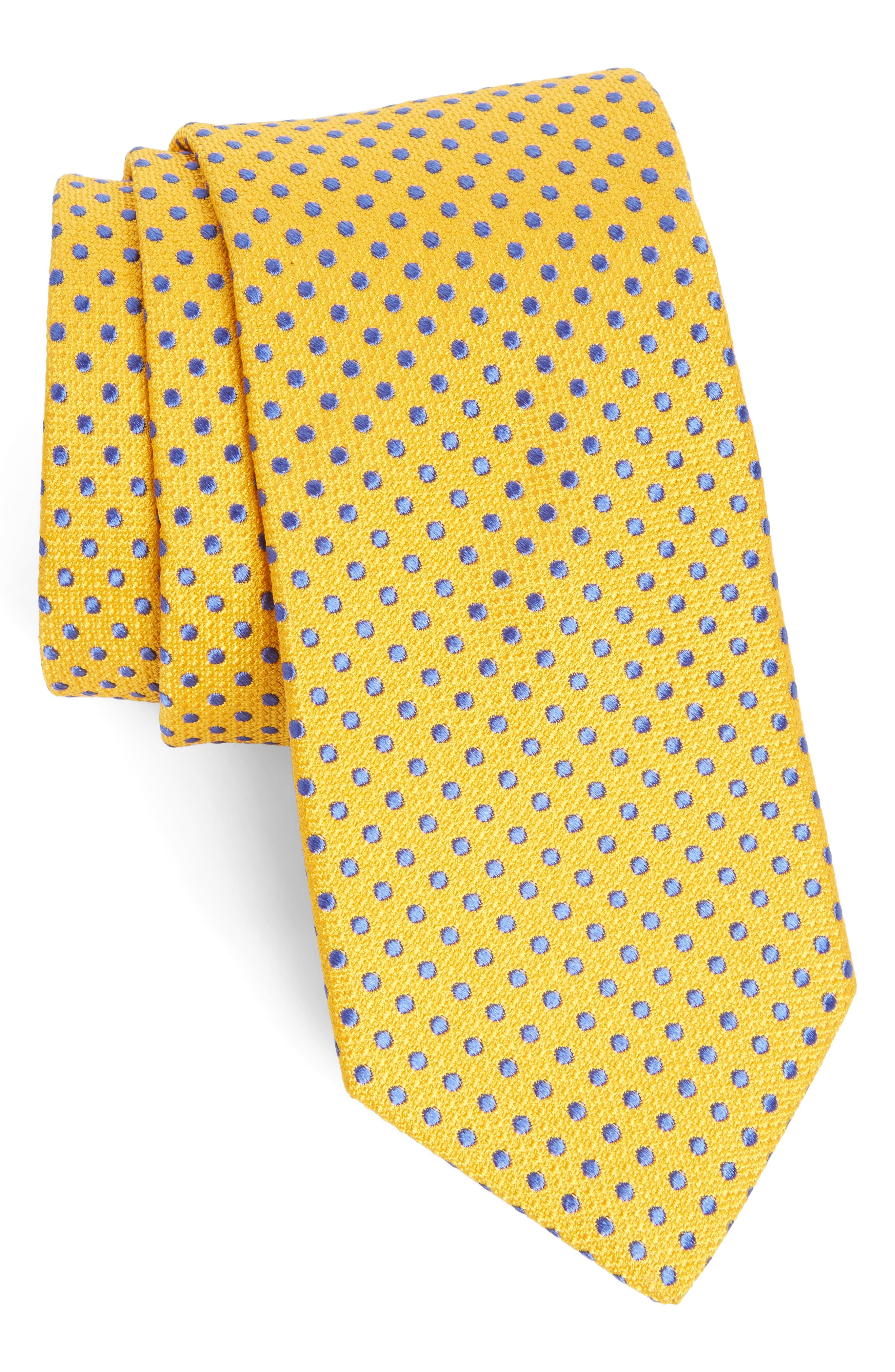 Ted Baker London Small Dot Silk Tie