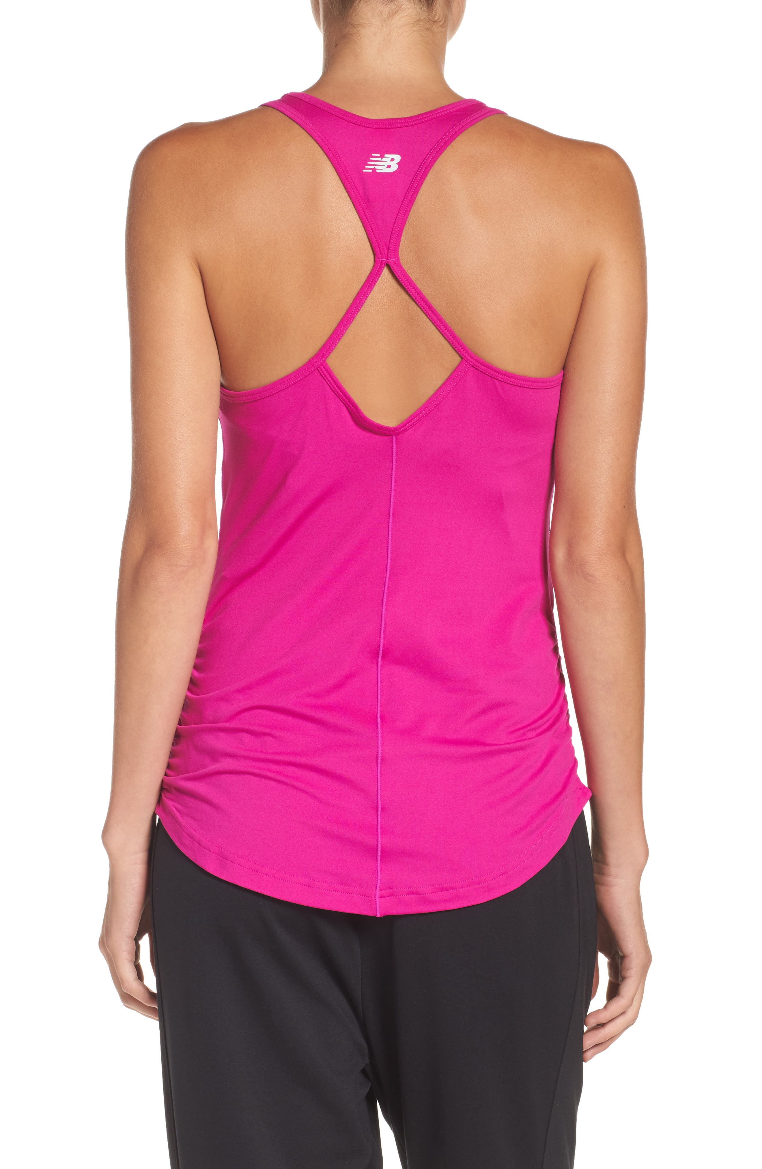 Alternate Image 2  - New Balance 'Perfect' Cutout Racerback Tank