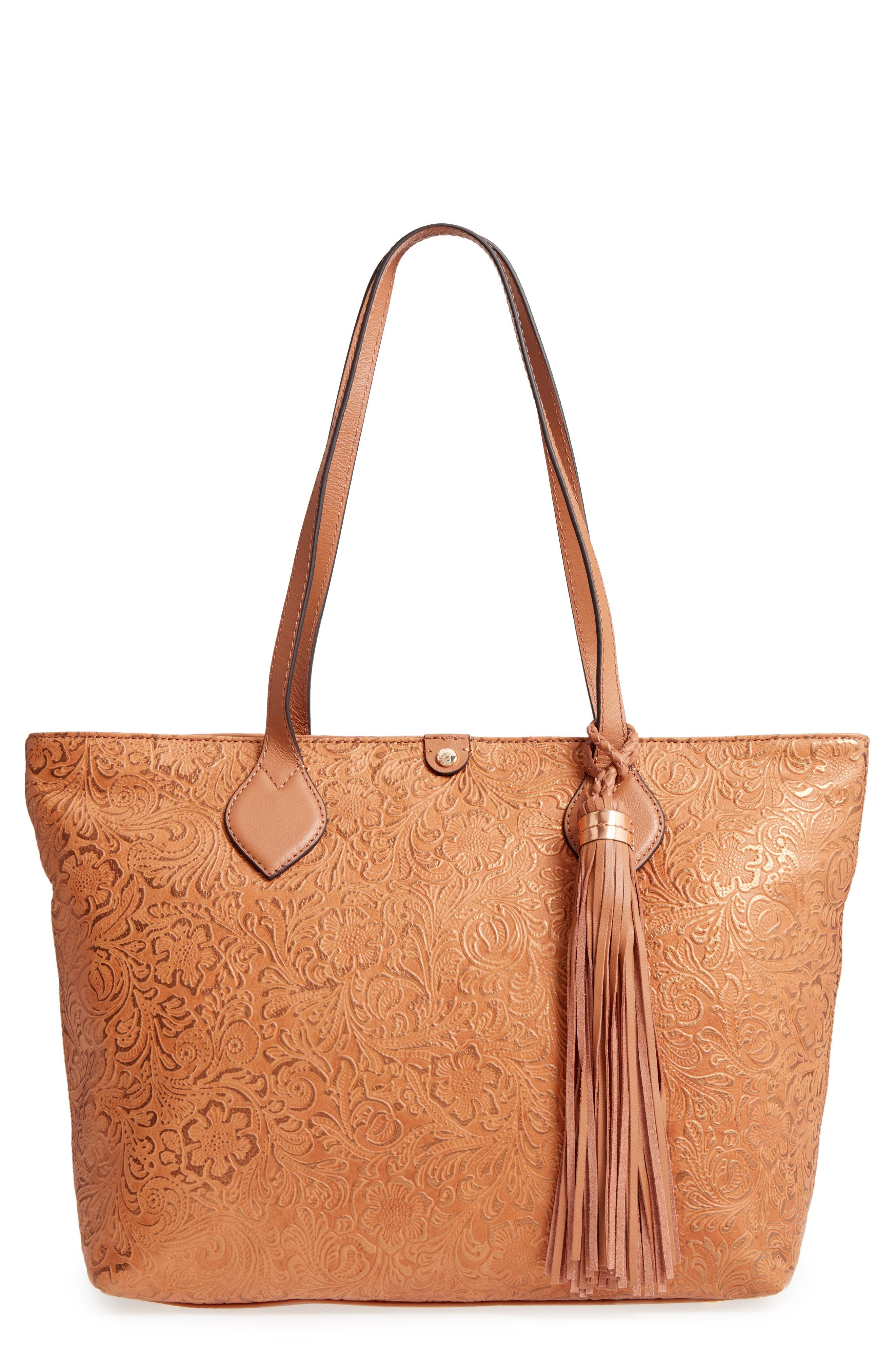 Alternate Image 1 Selected - Tommy Bahama Barbados Leather Tote