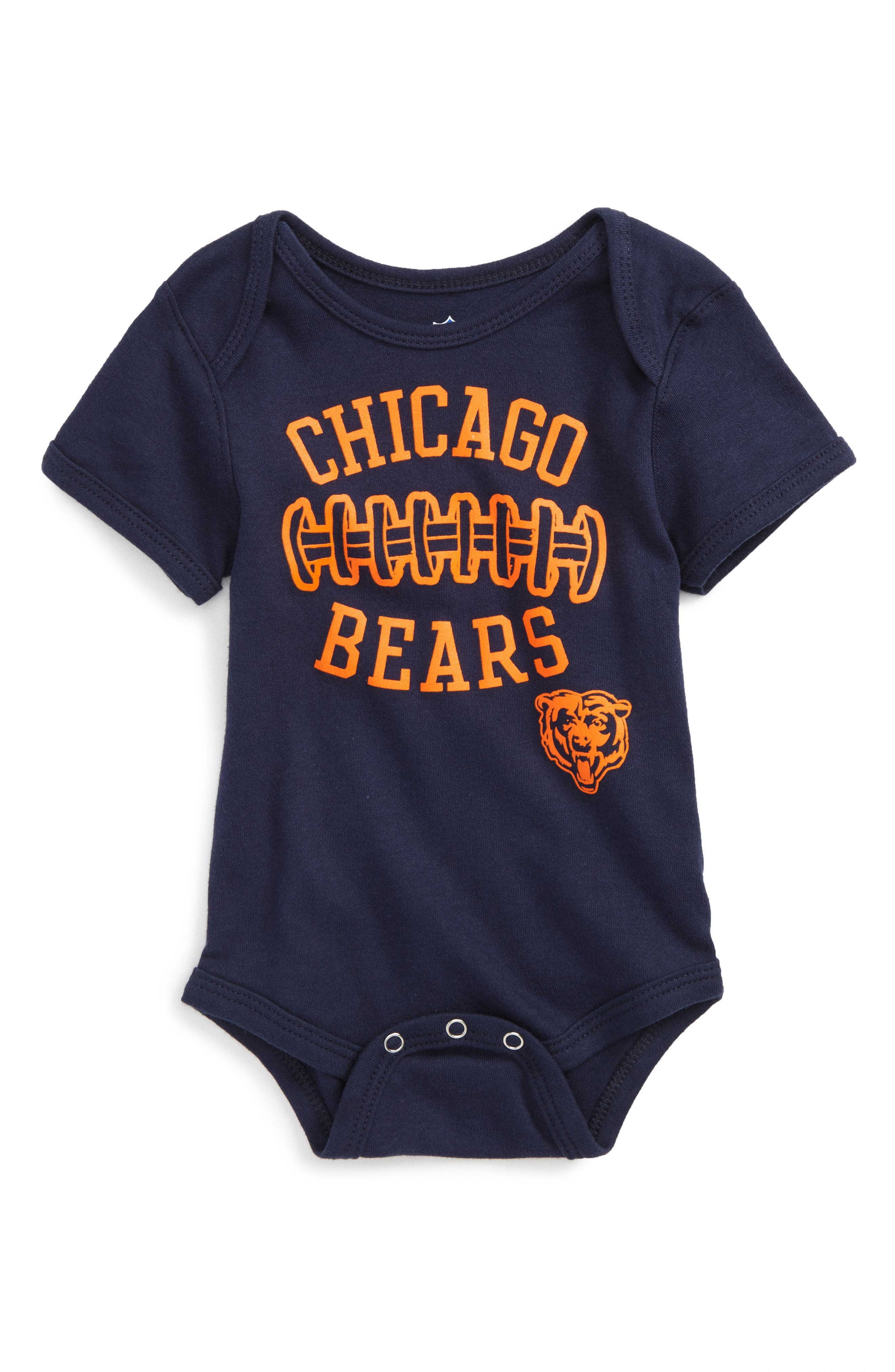 NFL Logo Chicago Bears Fan-Atic Football Bodysuit (Baby)
