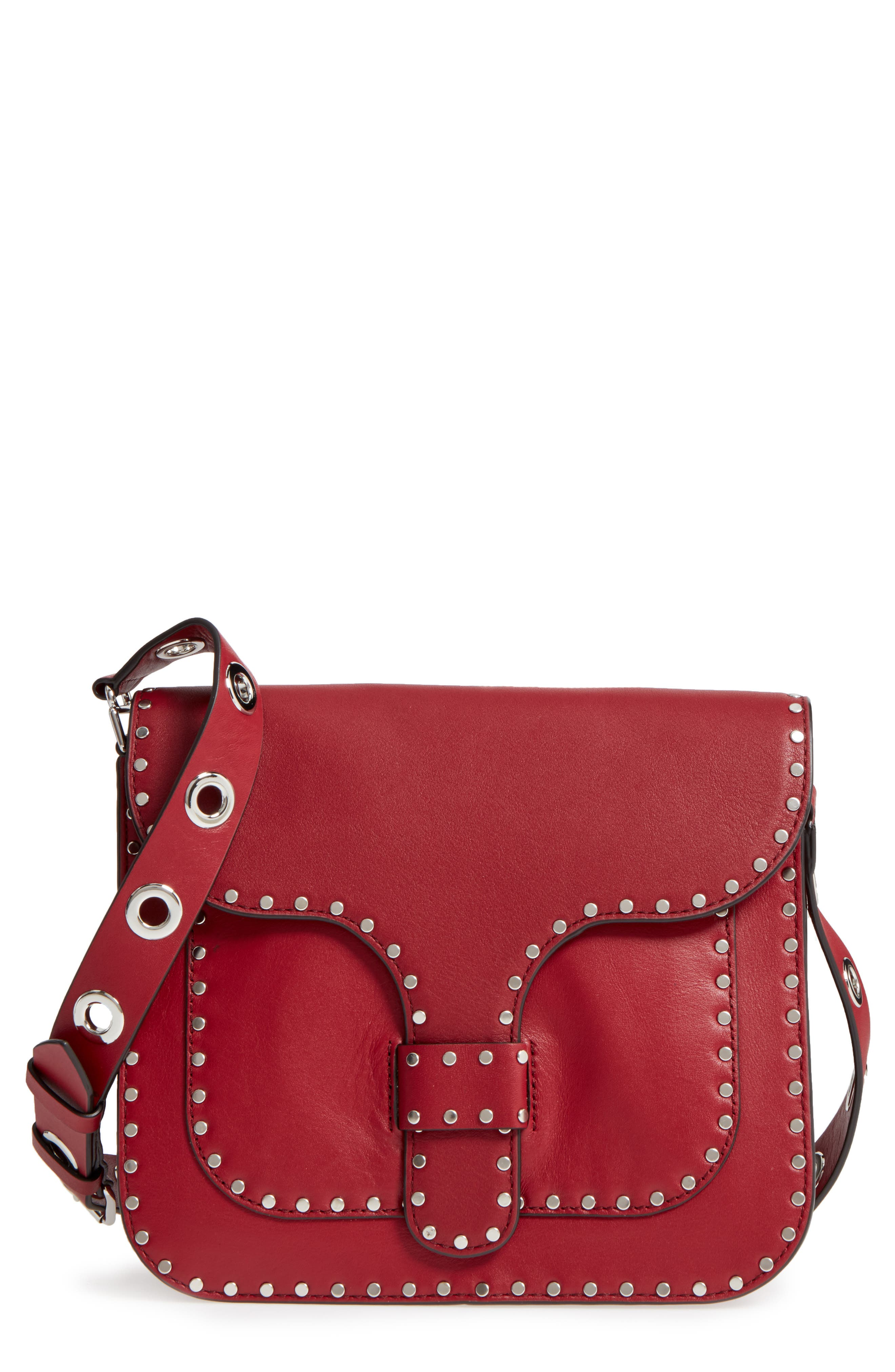 Alternate Image 1 Selected - Rebecca Minkoff Large Midnighter Leather Crossbody Bag