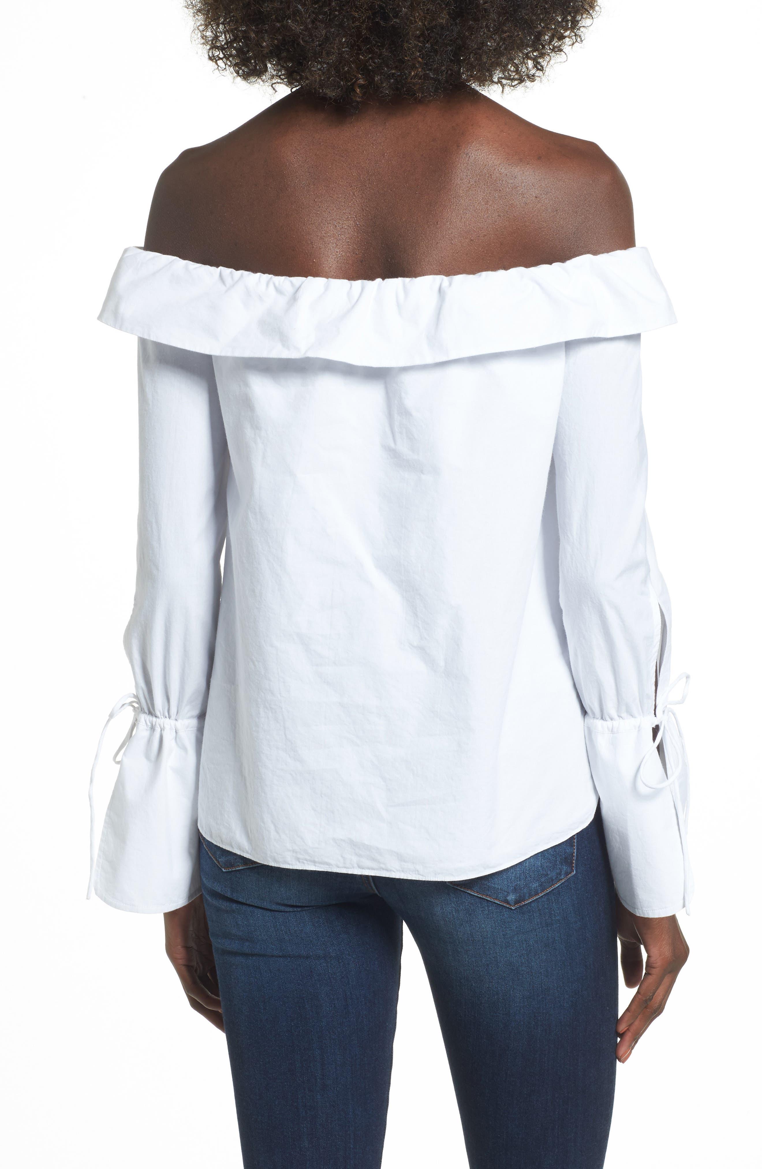 Alternate Image 2  - L'Academie Aria Off the Shoulder Blouse